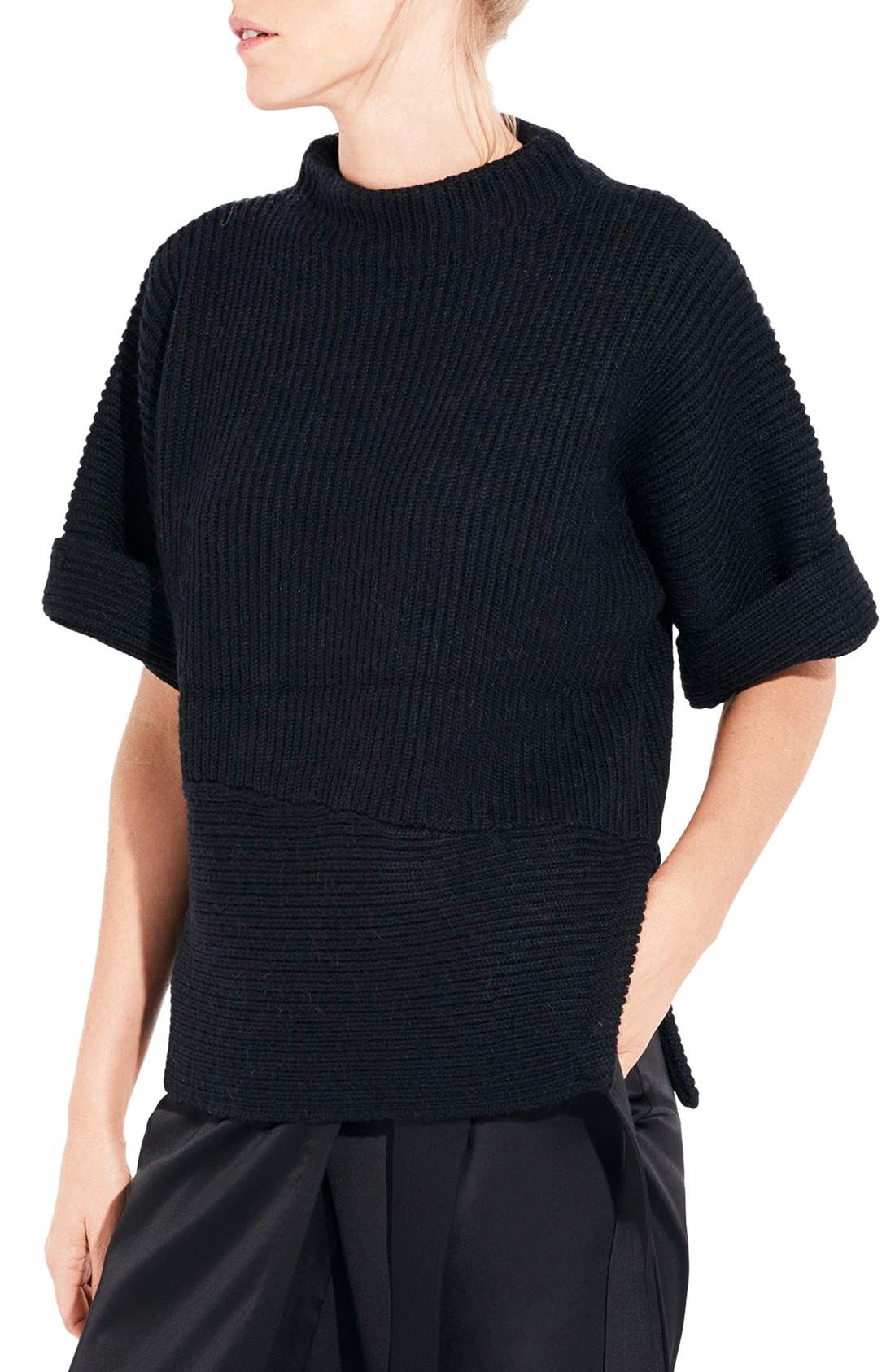 Alternate Image 1 Selected - AYR The Fika Merino & Alpaca Rib Sweater