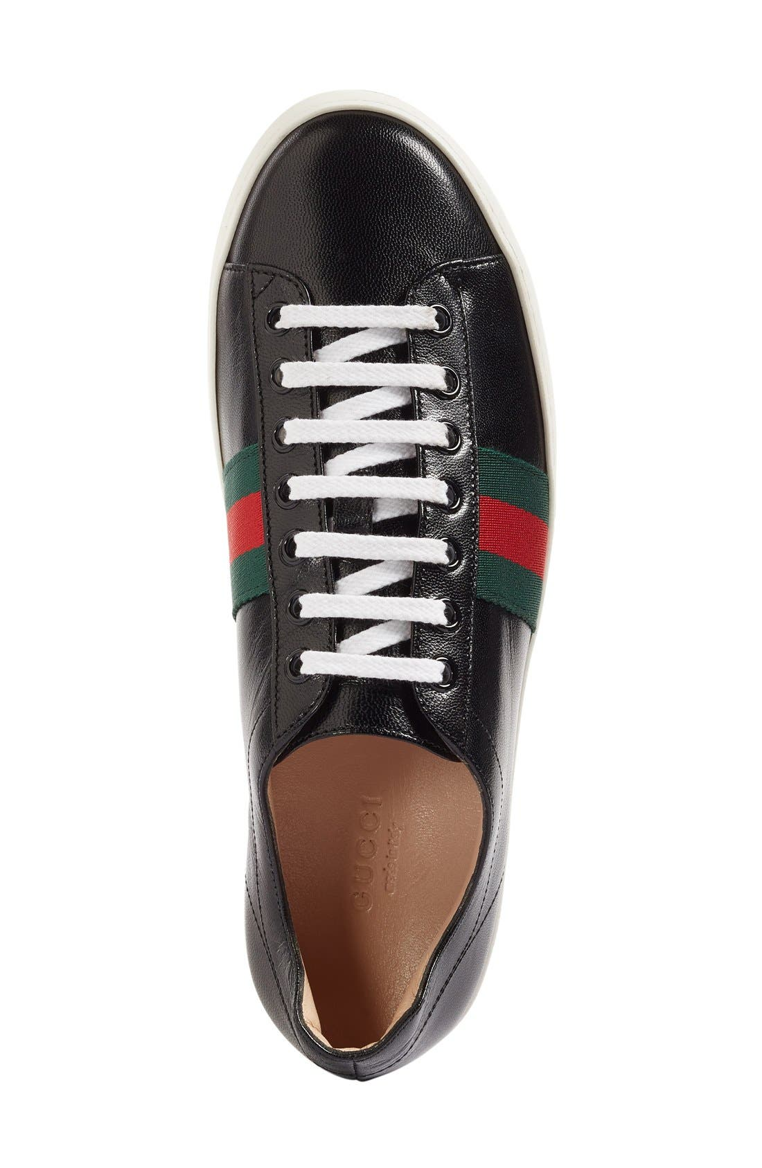 Alternate Image 3  - Gucci Peggy Platform Sneaker (Women)