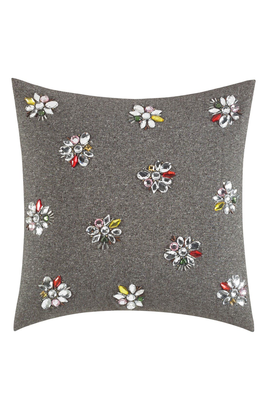 Alternate Image 1 Selected - kate spade new york clustered gem accent pillow
