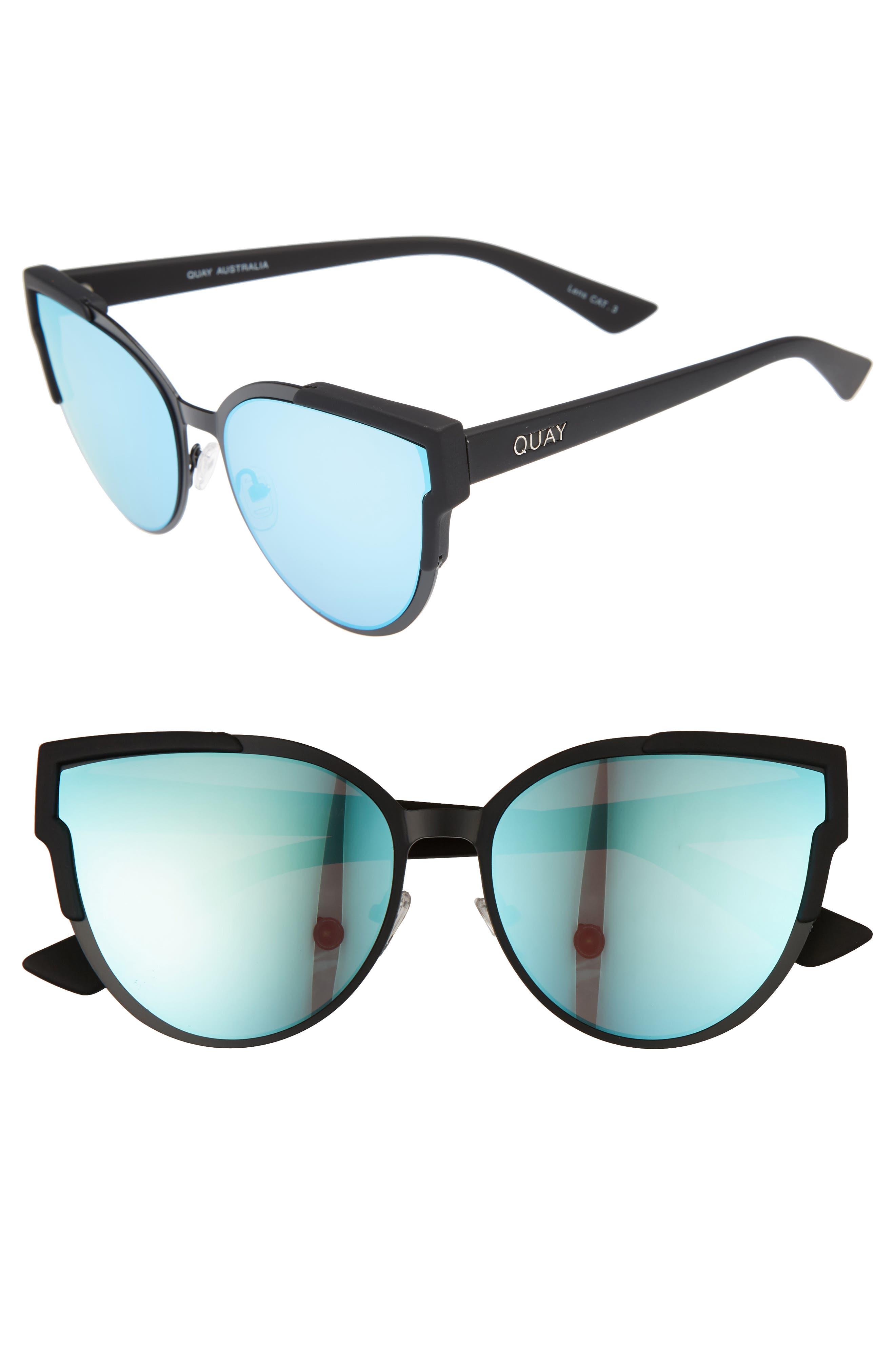 Quay Australia Game On 57mm Cat Eye Sunglasses