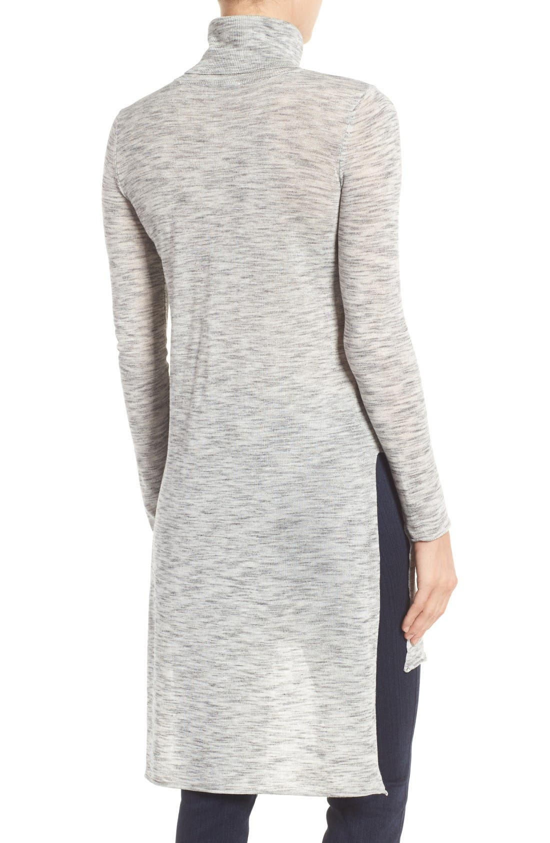 Alternate Image 2  - Dex Turtleneck Tunic Sweater