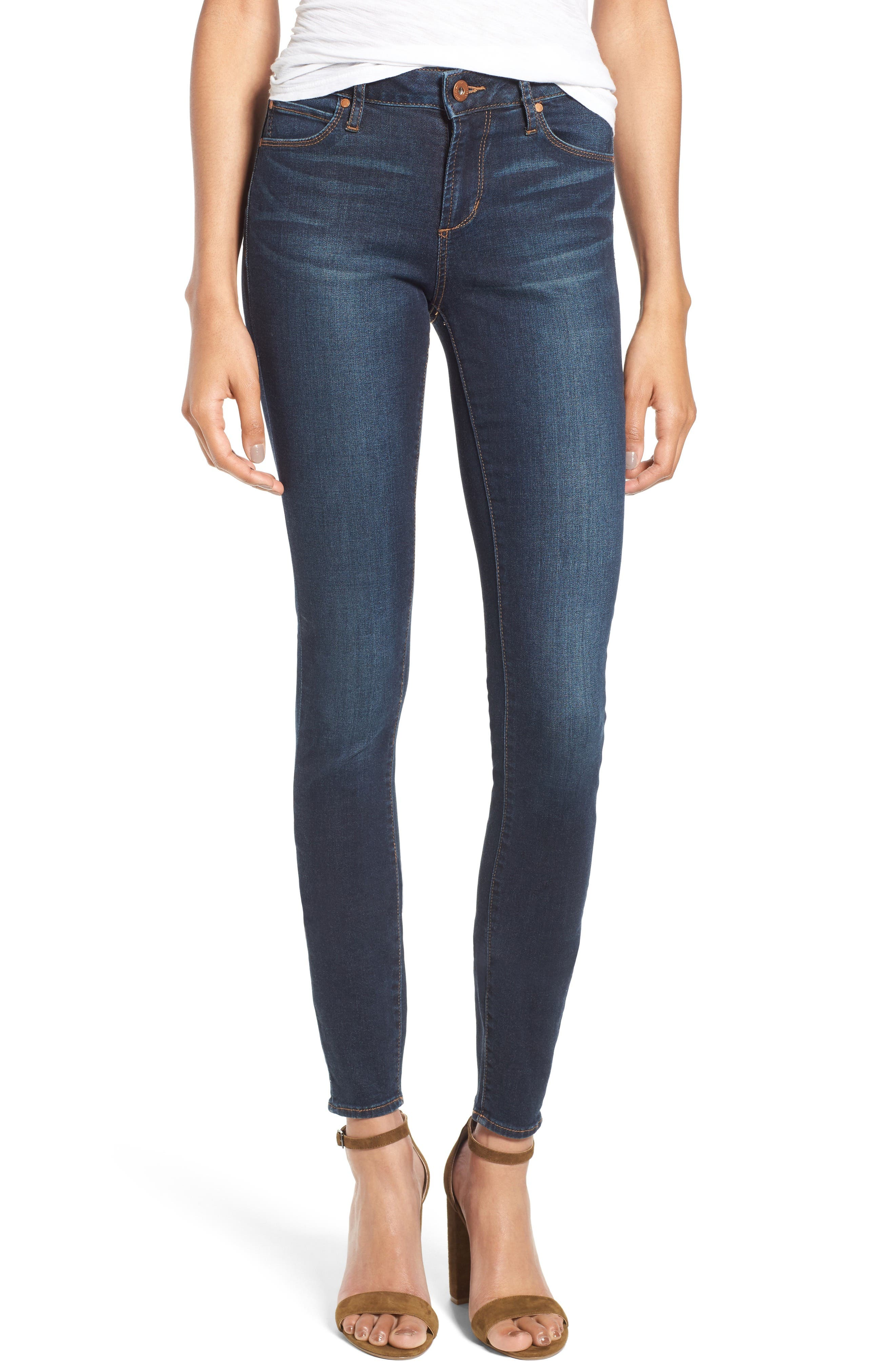 Alternate Image 1 Selected - Articles of Society Mya Skinny Jeans (Waverly)