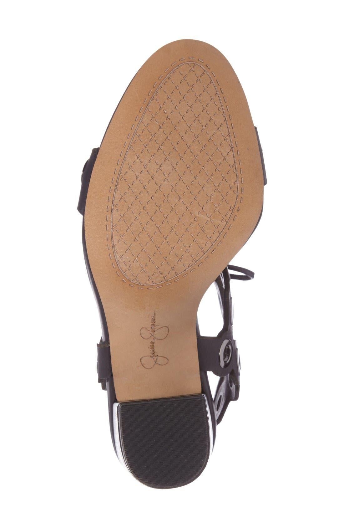 Alternate Image 4  - Jessica Simpson Kariss Lace-Up Sandal (Women)