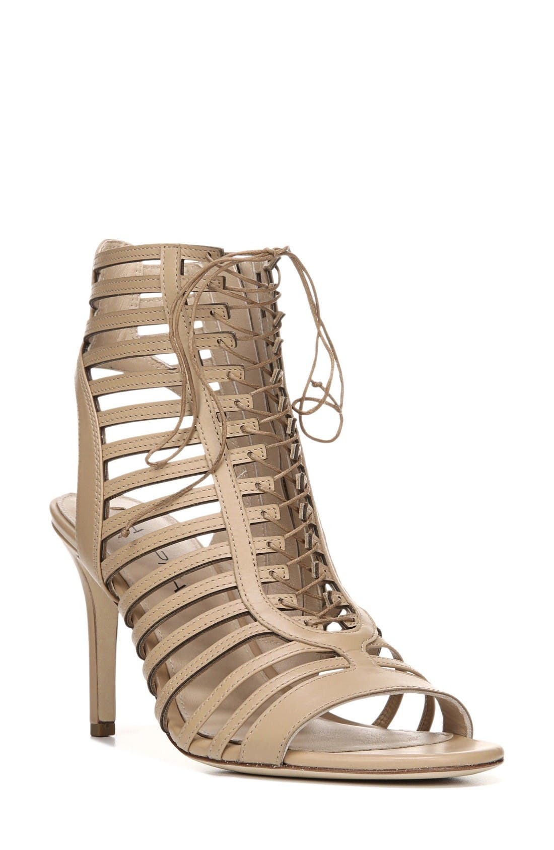 Via Spiga Valena Lace-Up Cage Sandal (Women)