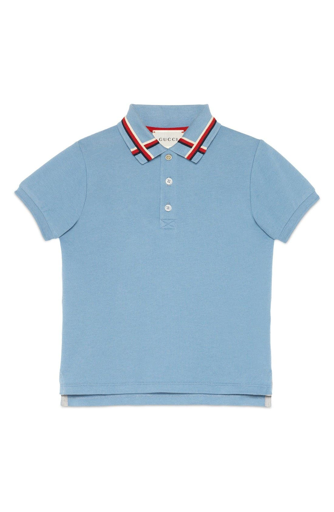 Gucci Ribbon Polo (Little Boys & Big Boys)
