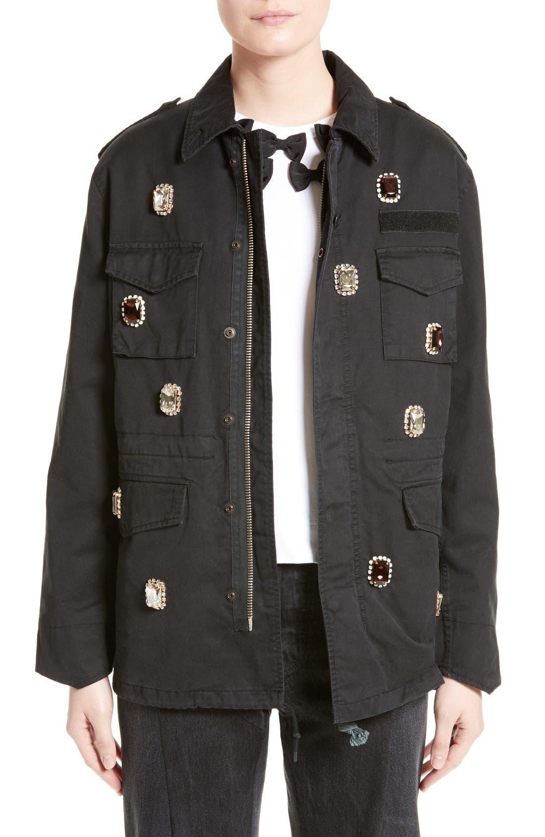 Tu es mon TRÉSOR Victorian Bijou Field Jacket