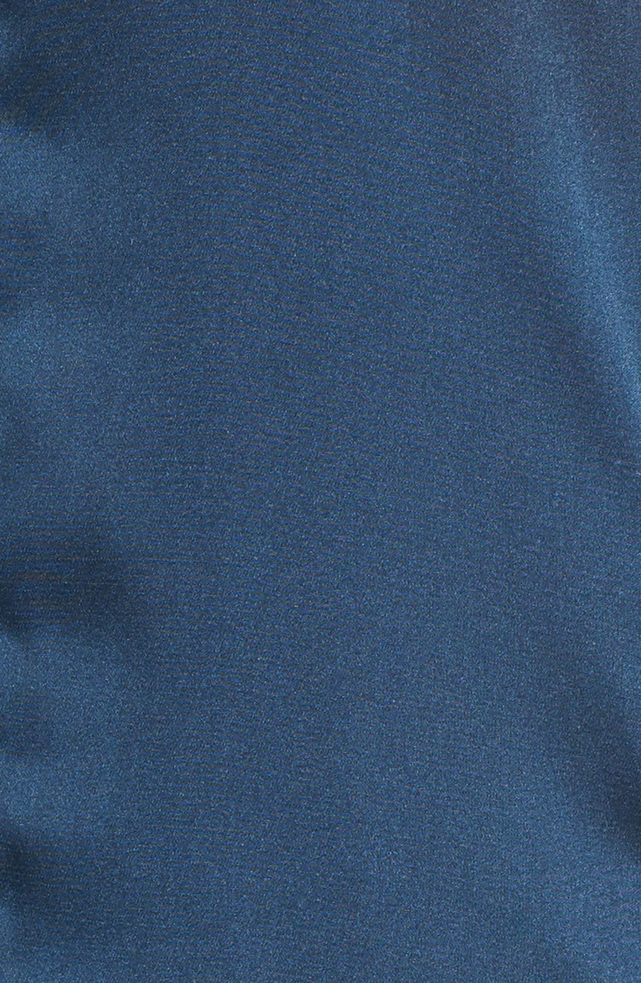 Alternate Image 5  - Pam & Gela Embroidered Satin Bomber Jacket