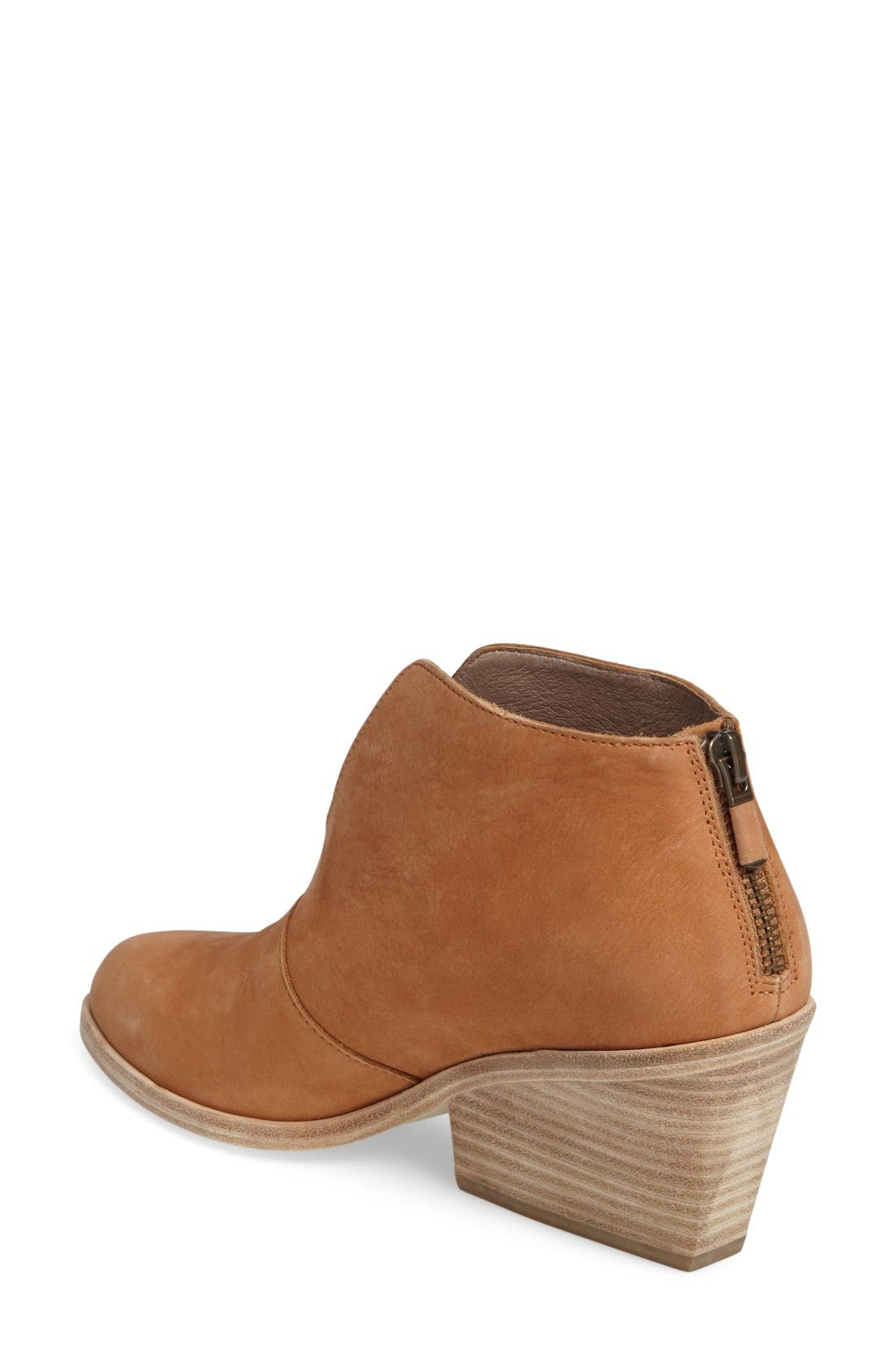 Alternate Image 2  - Eileen Fisher Nelson Split Shaft Block Heel Bootie (Women)