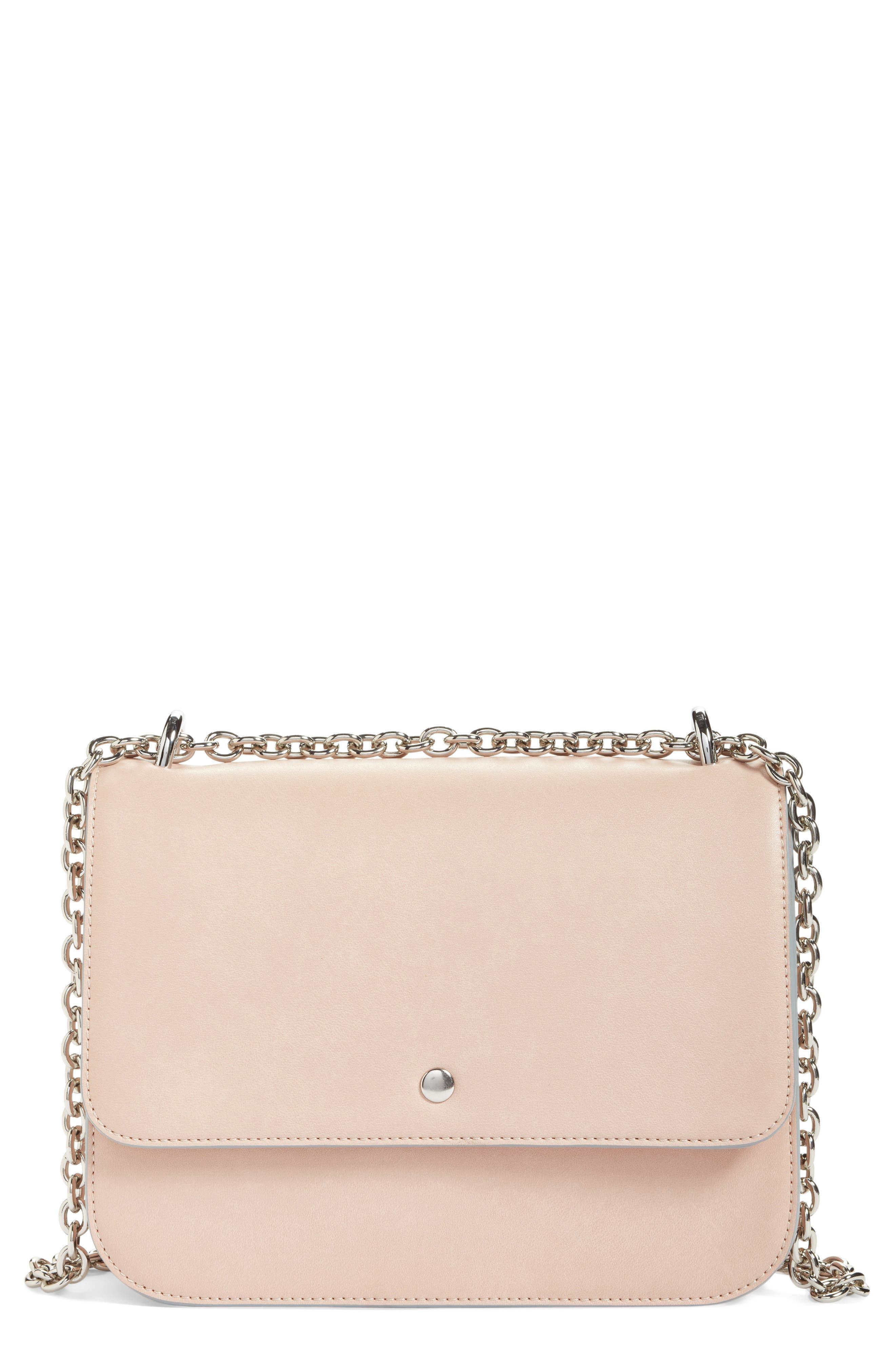 Alternate Image 1 Selected - Chelsea28 Dahlia Faux Leather Shoulder Bag
