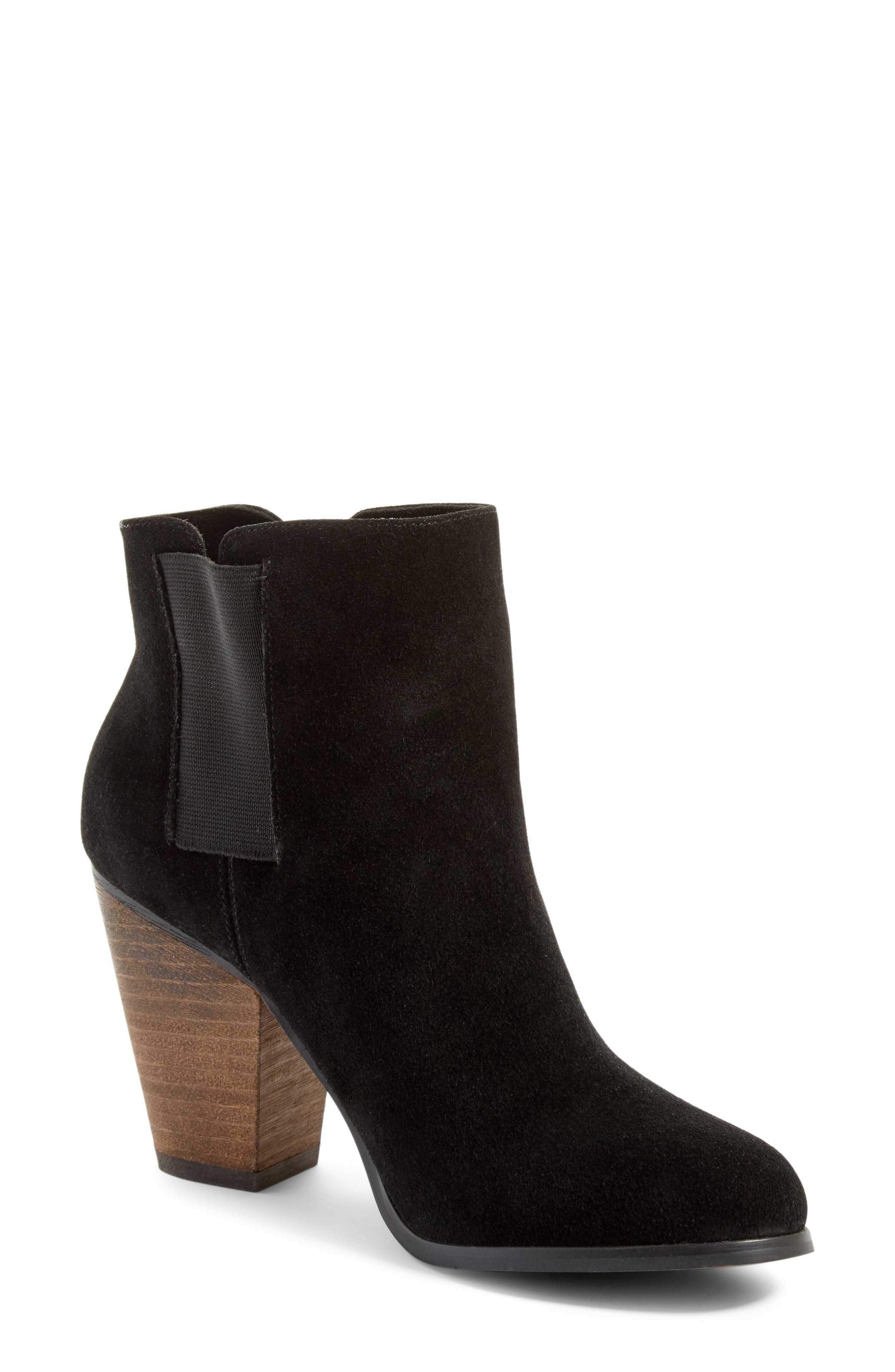 Alternate Image 1 Selected - Sole Society 'Lylee' Suede Bootie (Women)