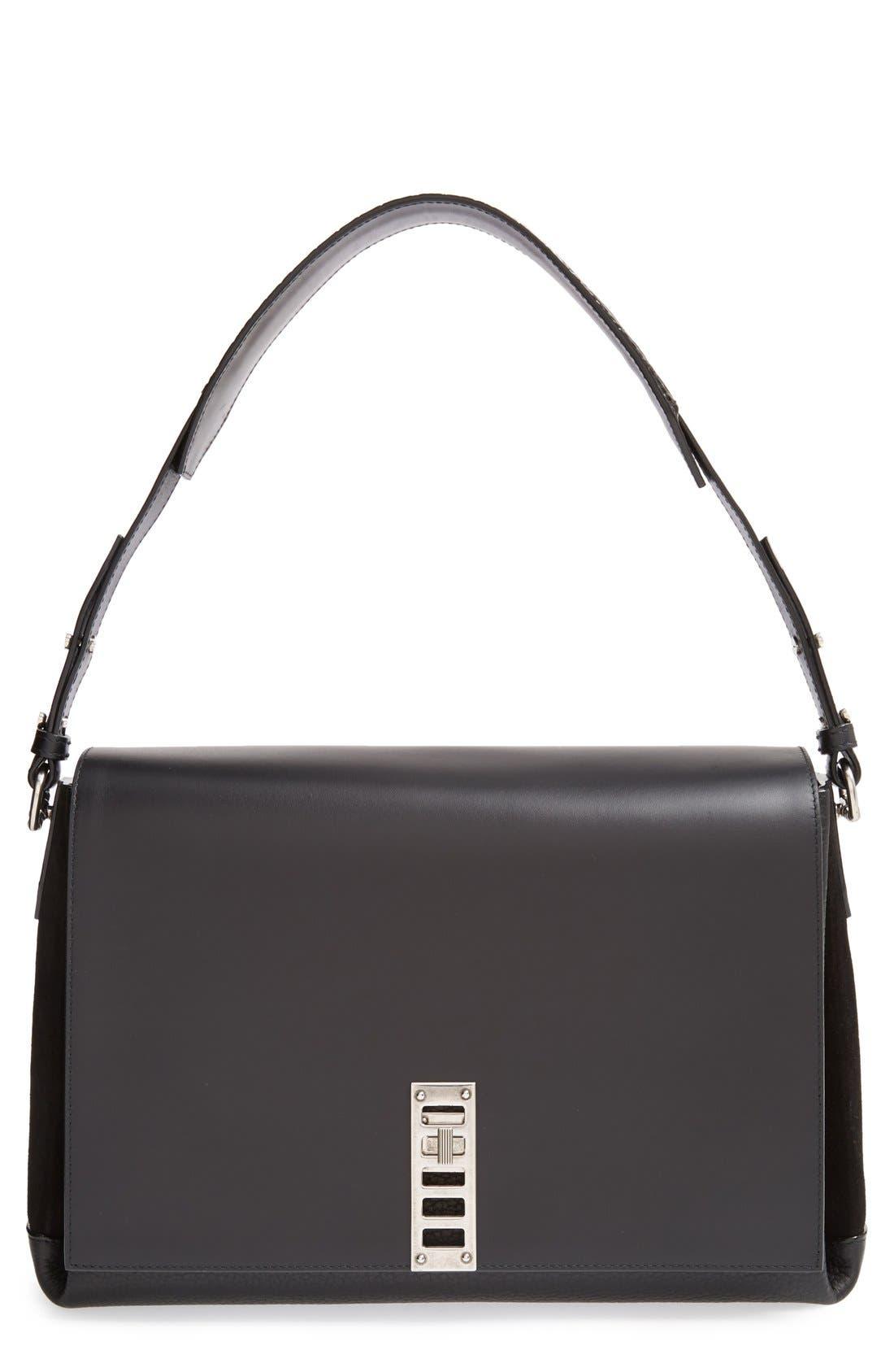 Alternate Image 1 Selected - Proenza Schouler 'Elliot' Leather Shoulder Bag