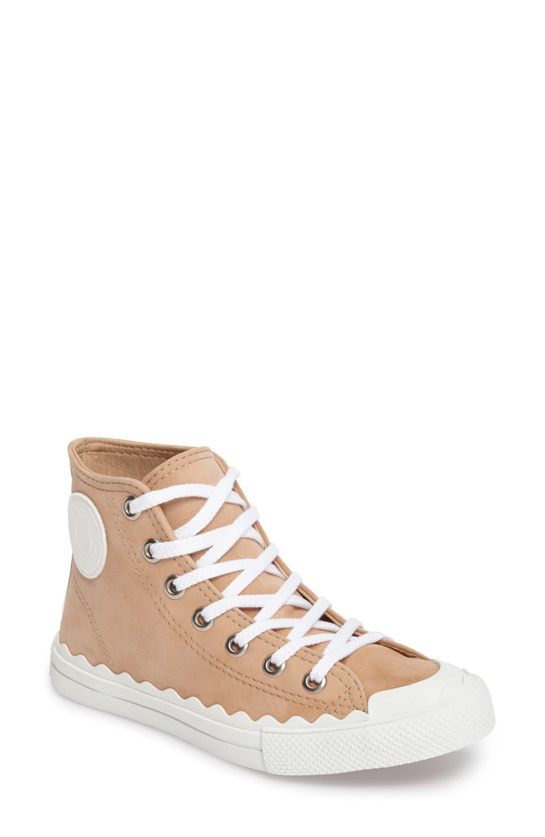 CHLOÉ Kyle Mid Top Sneaker