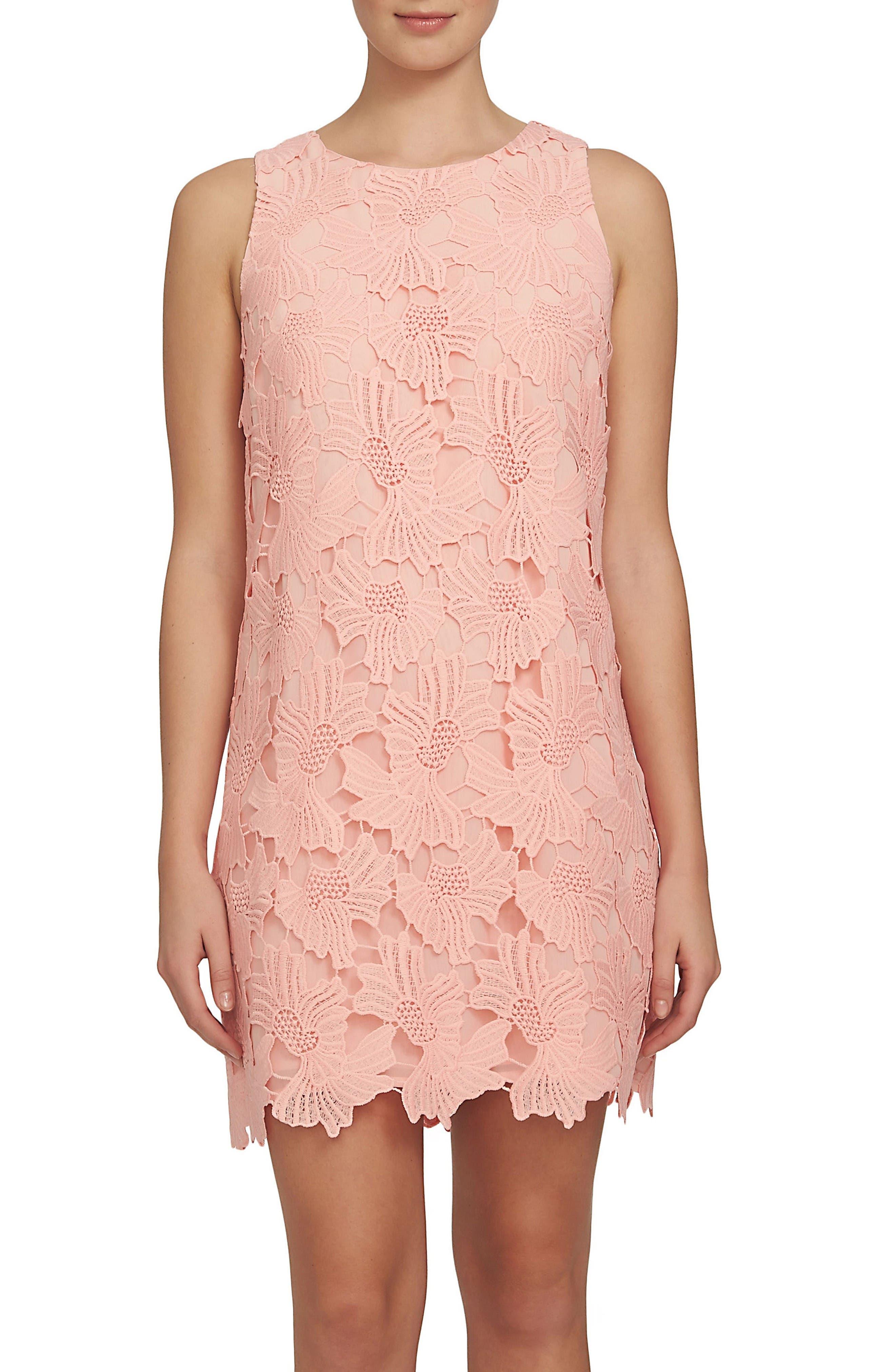 CeCe Arlington Lace Shift Dress