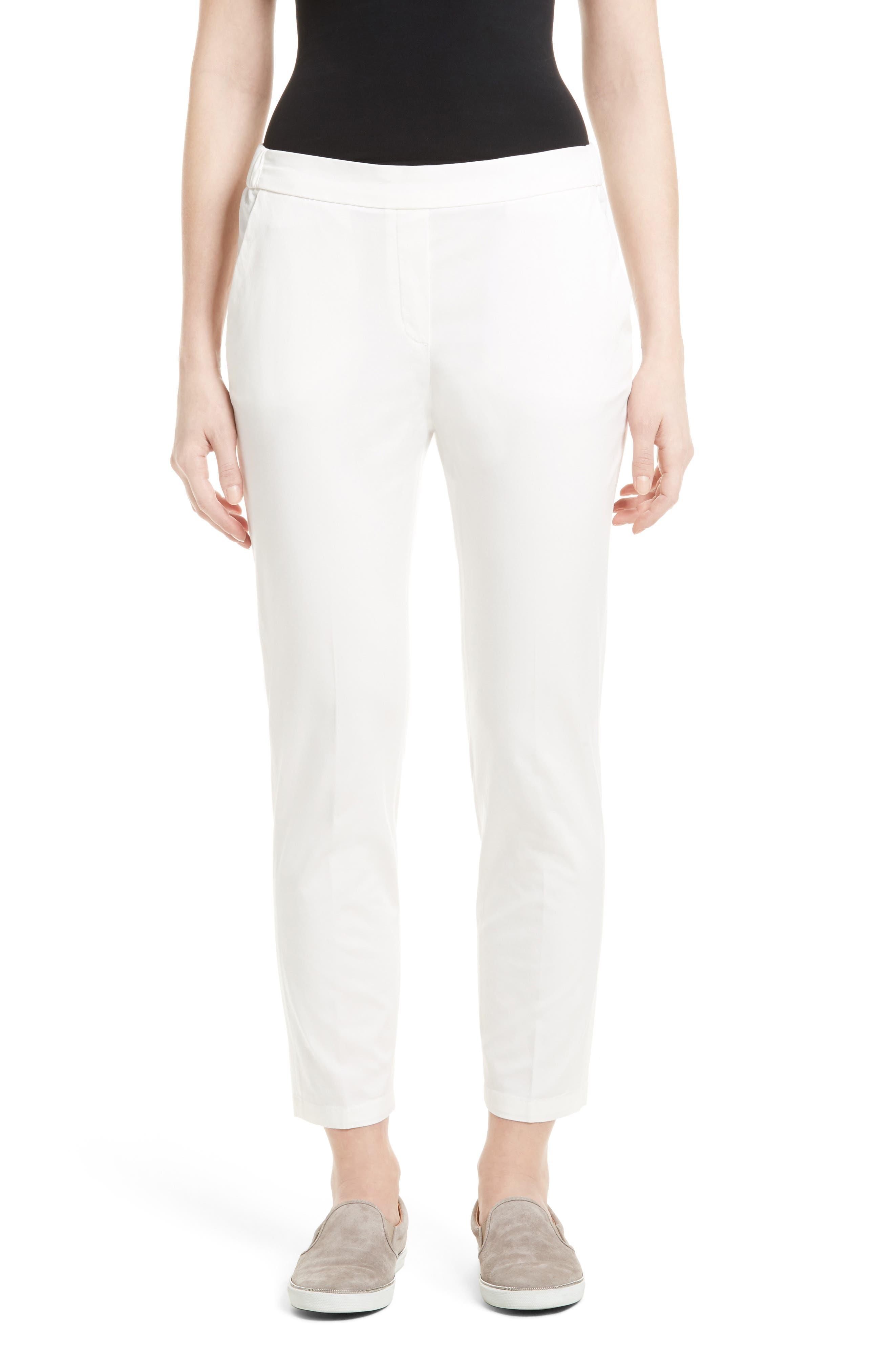 FABIANA FILIPPI Crop Cotton Gabardine Pants