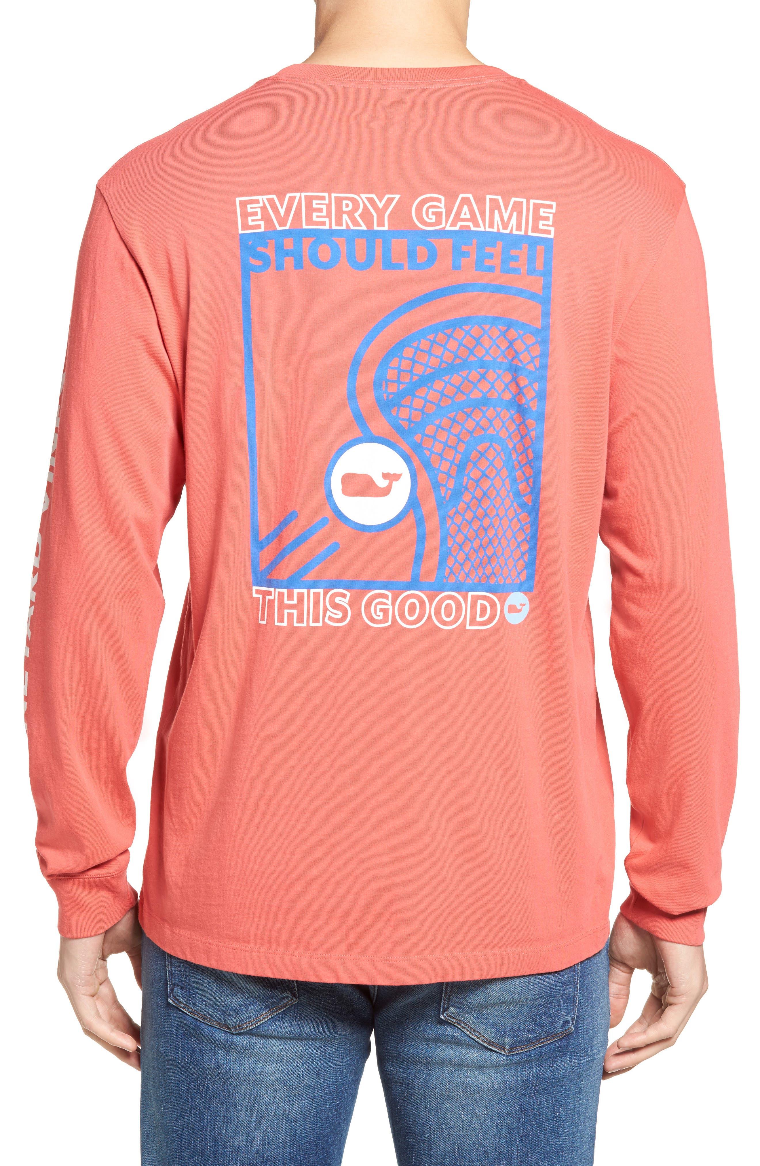 Vineyard Vines Lacrosse Box Pocket T-Shirt