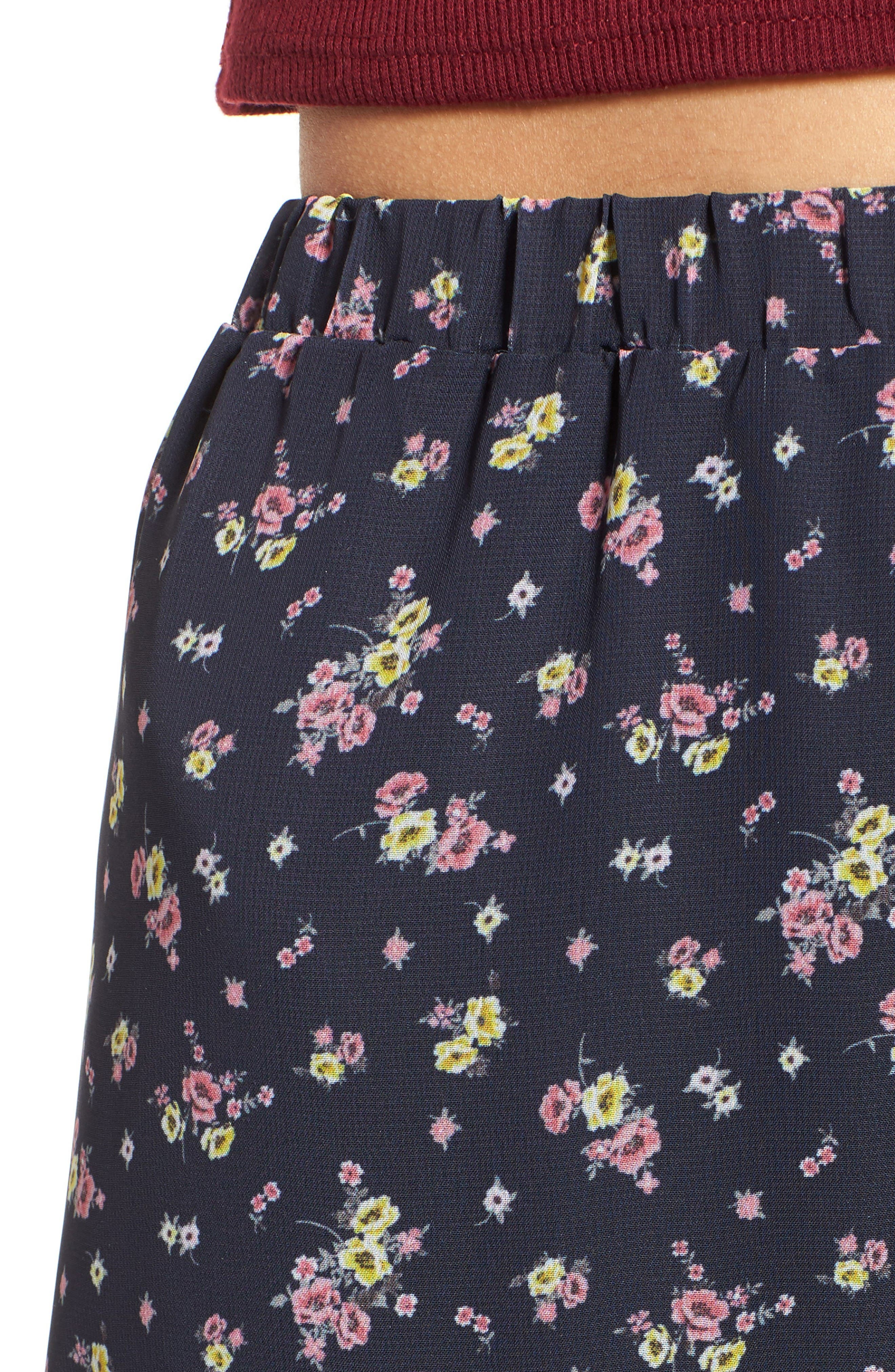 Alternate Image 4  - BP. Floral Print Maxi Skirt