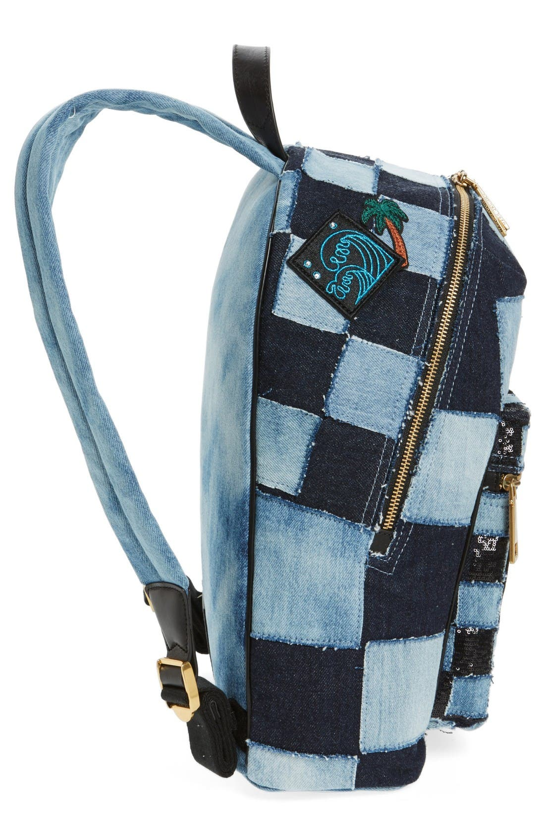 Alternate Image 5  - MARC JACOBS Denim Biker Backpack