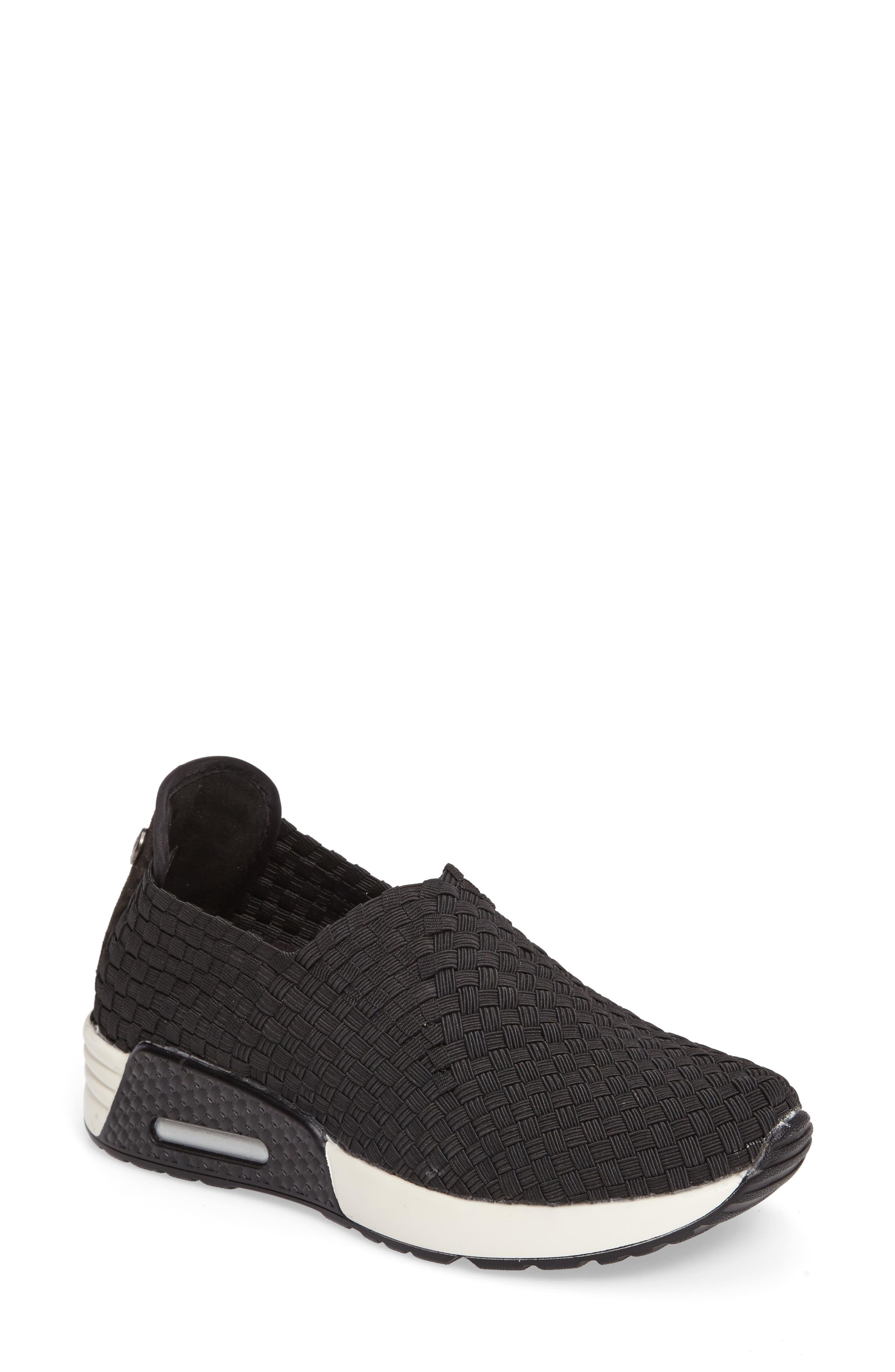 BERNIE MEV. Best Gem Woven Elastic Sneaker