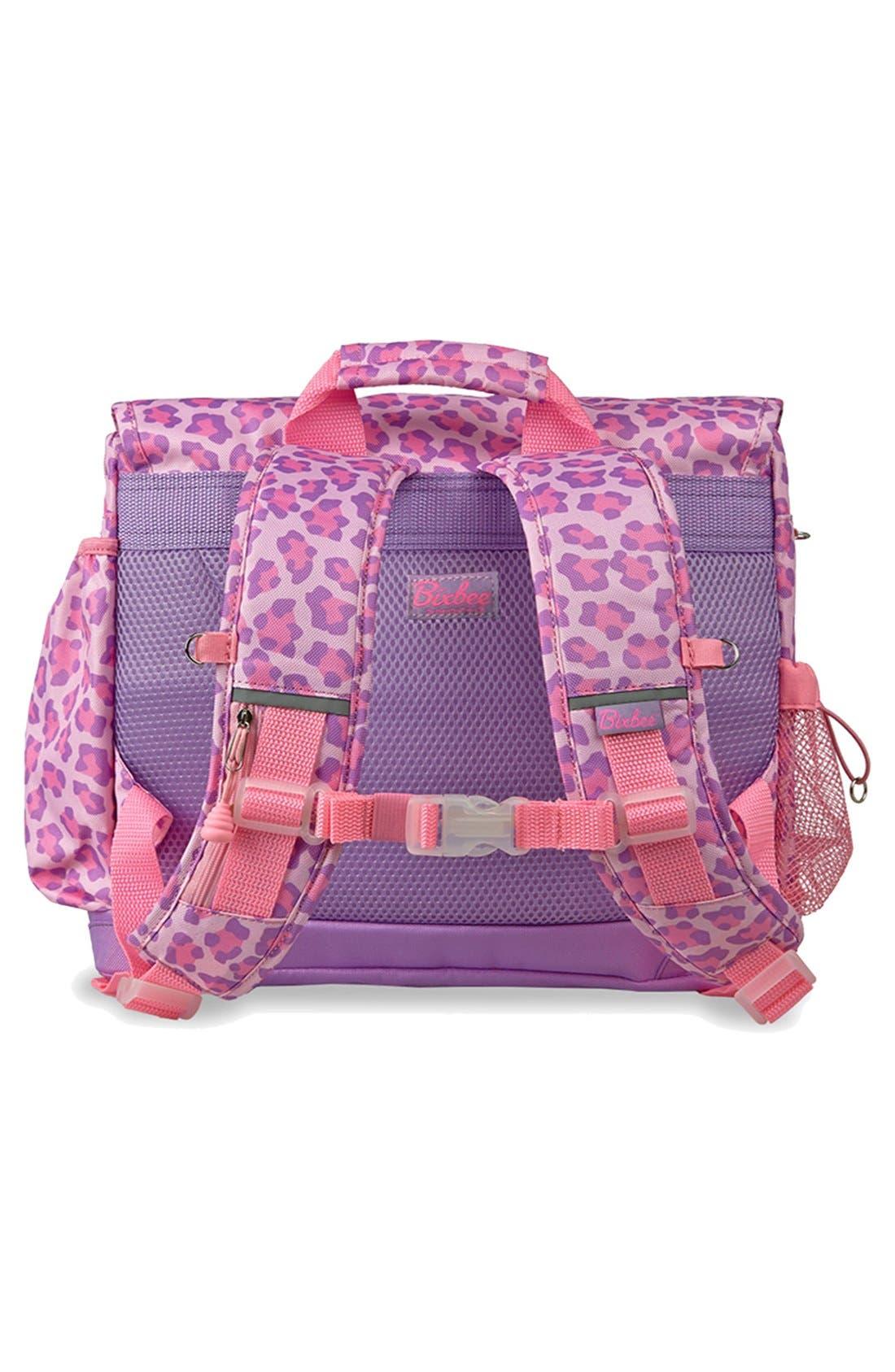 Alternate Image 2  - Bixbee 'Large Sassy Spots' Leopard Print Backpack (Kids)