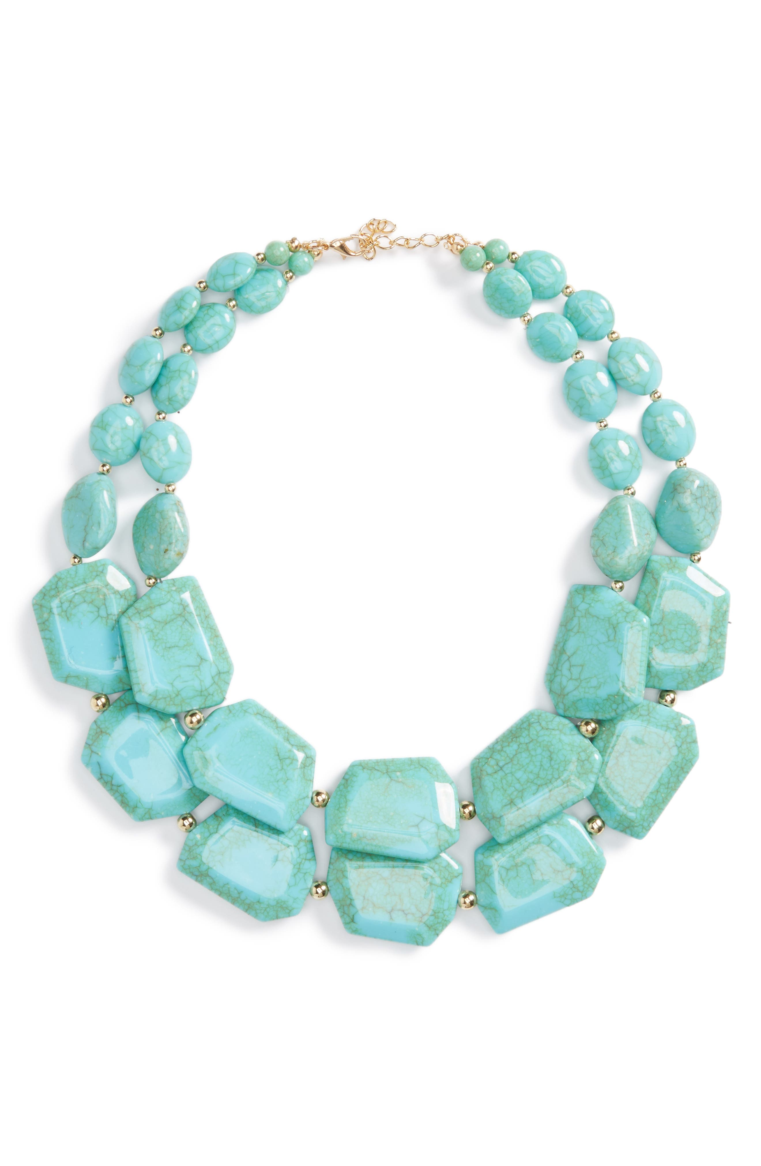 Alternate Image 1 Selected - Natasha Couture Statement Collar Necklace