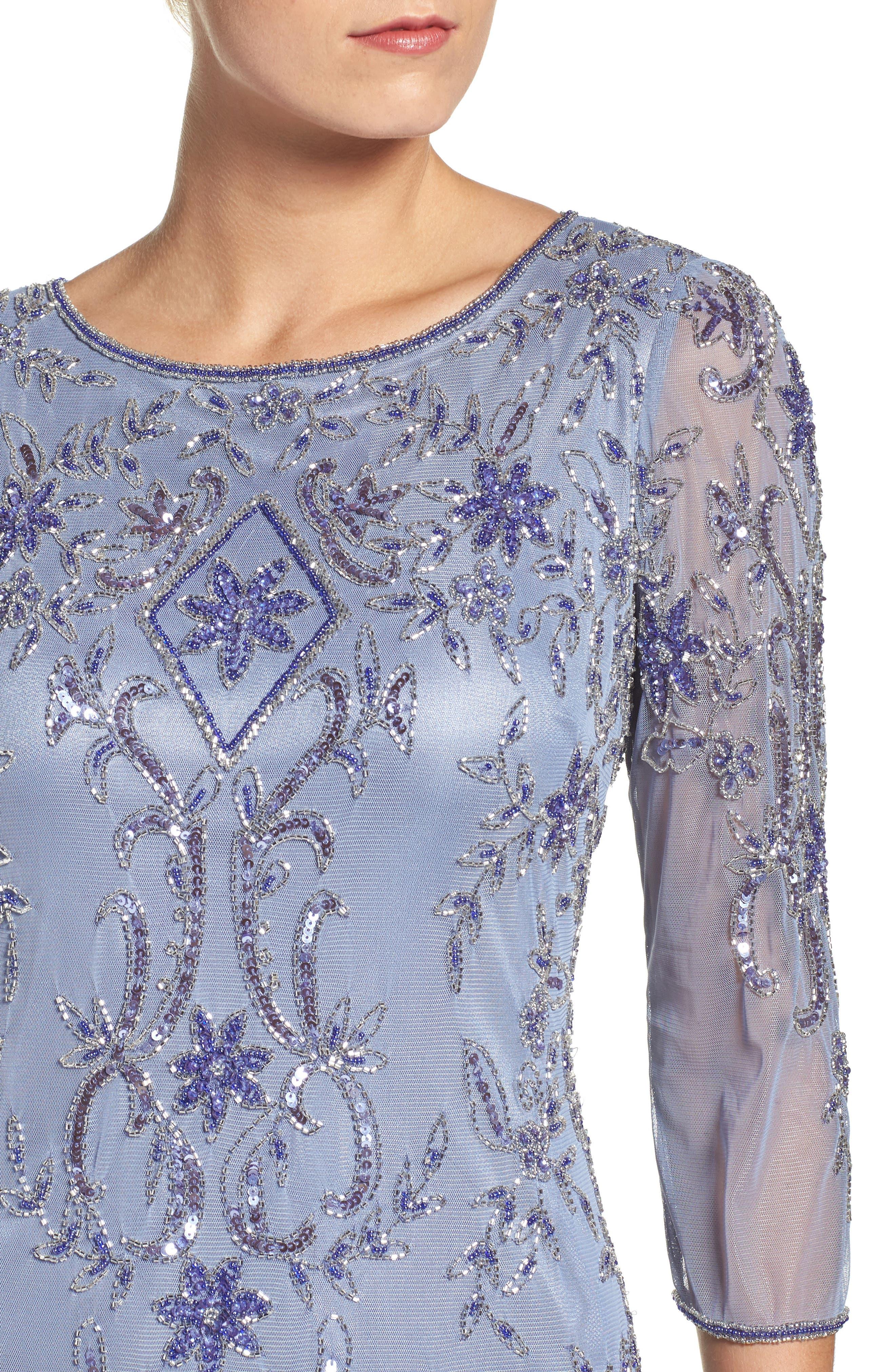 Alternate Image 4  - Pisarro Nights Embellished Mesh Dress