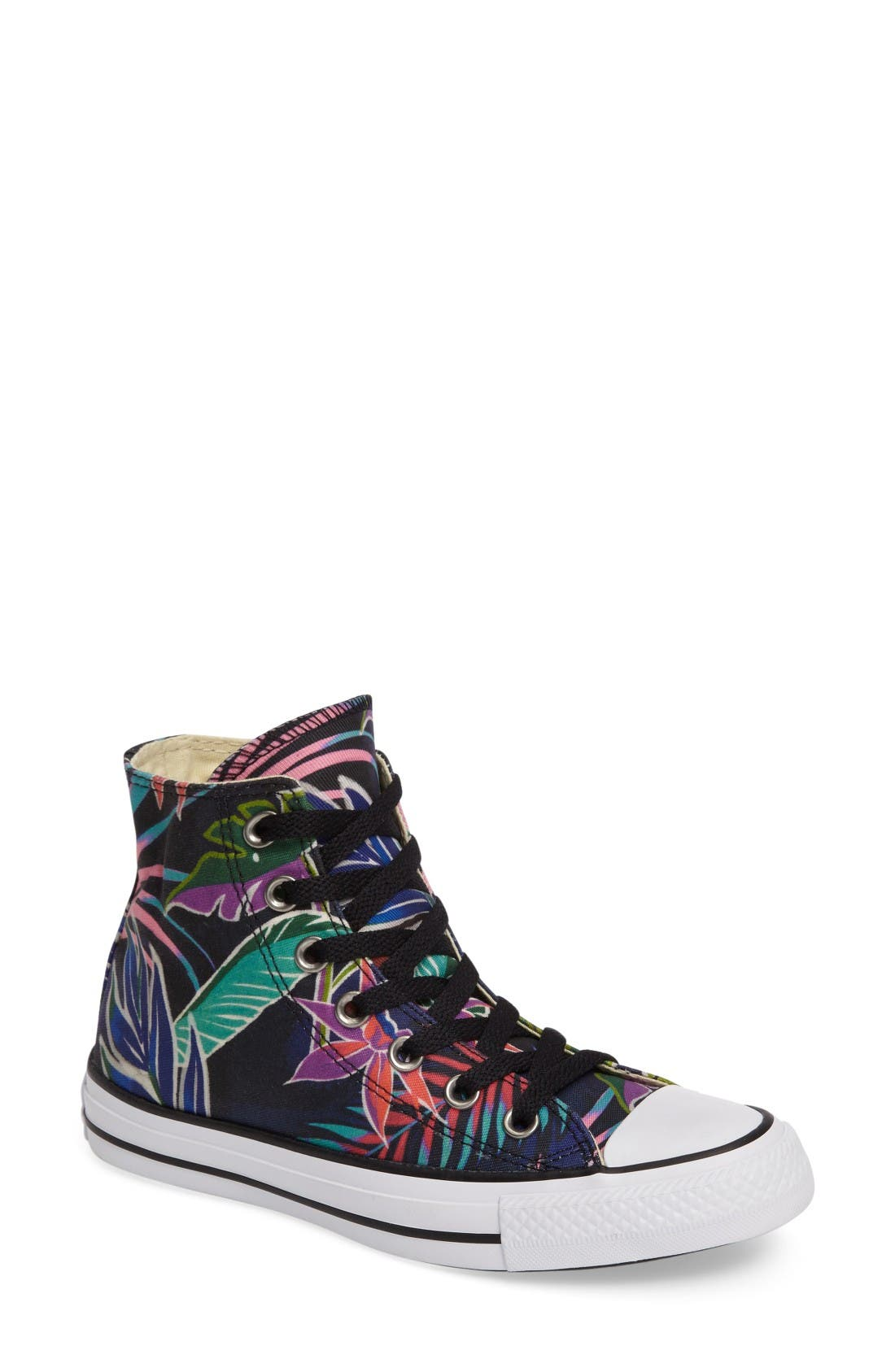 Main Image - Converse Chuck Taylor® All Star® Print High Top Sneaker (Women)