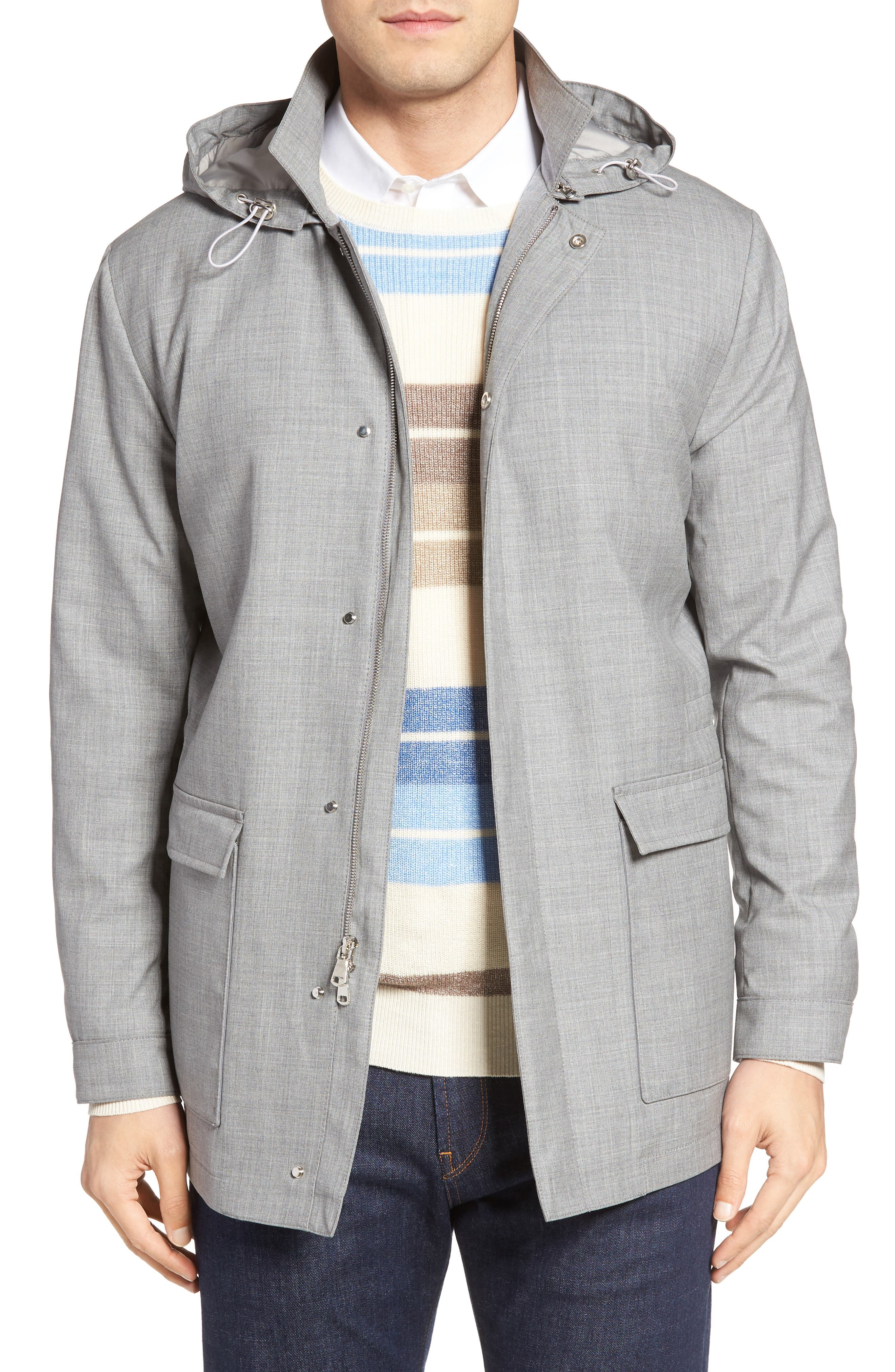 Peter Millar Mirabeau Water Repellent Wool Field Jacket