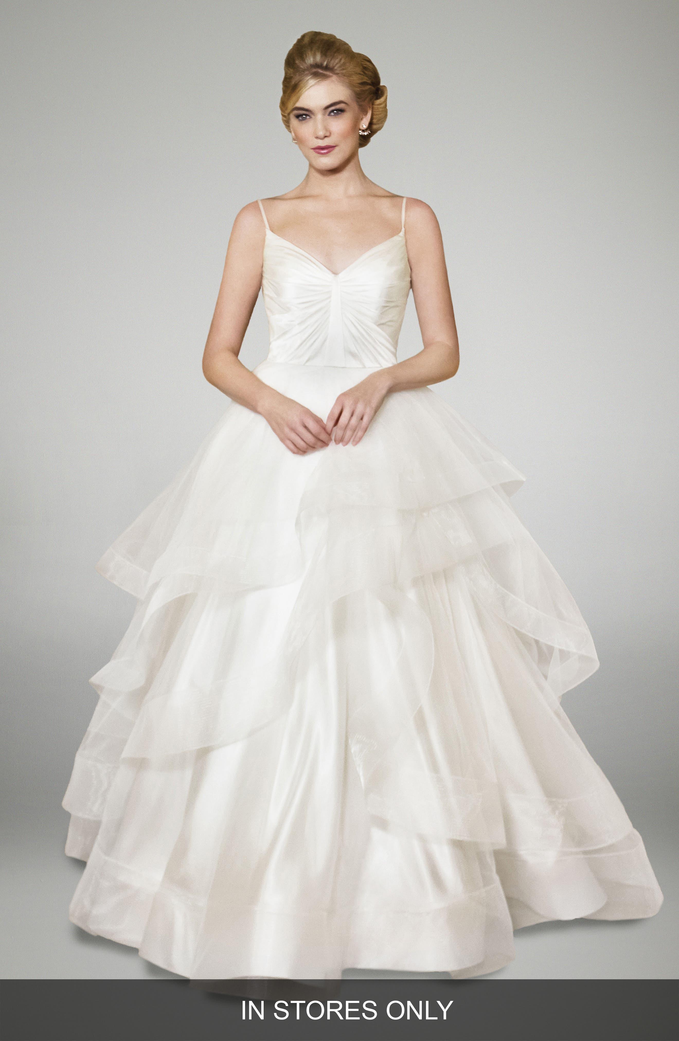 Matthew Christopher Arabella Silk Ballgown (In Stores Only)