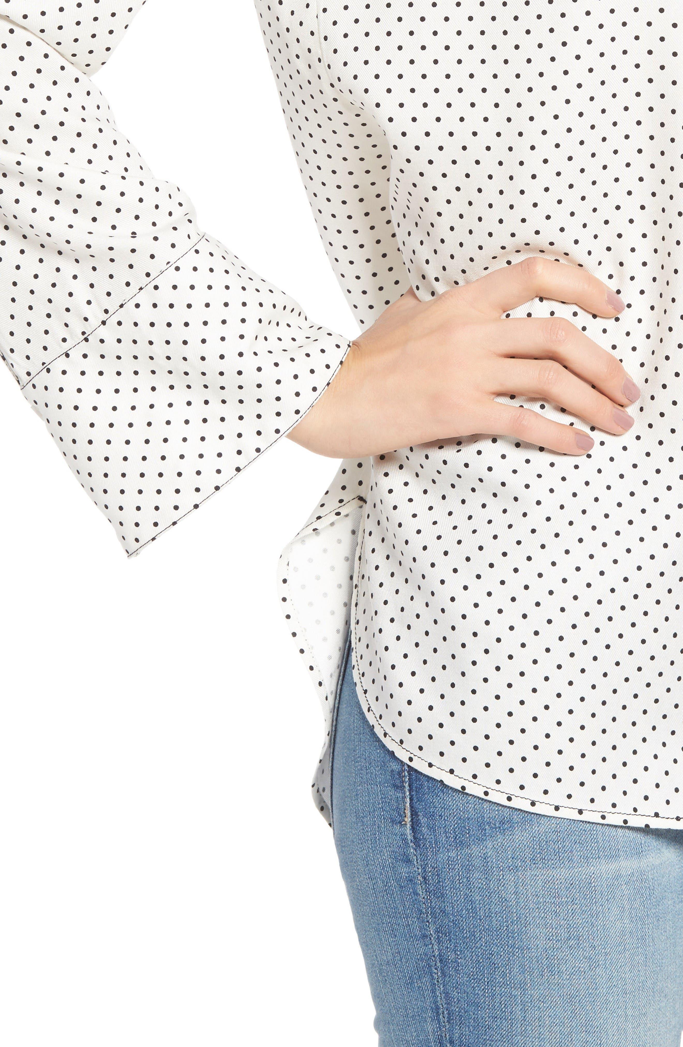 Alternate Image 5  - Treasure & Bond Relaxed Pajama Shirt