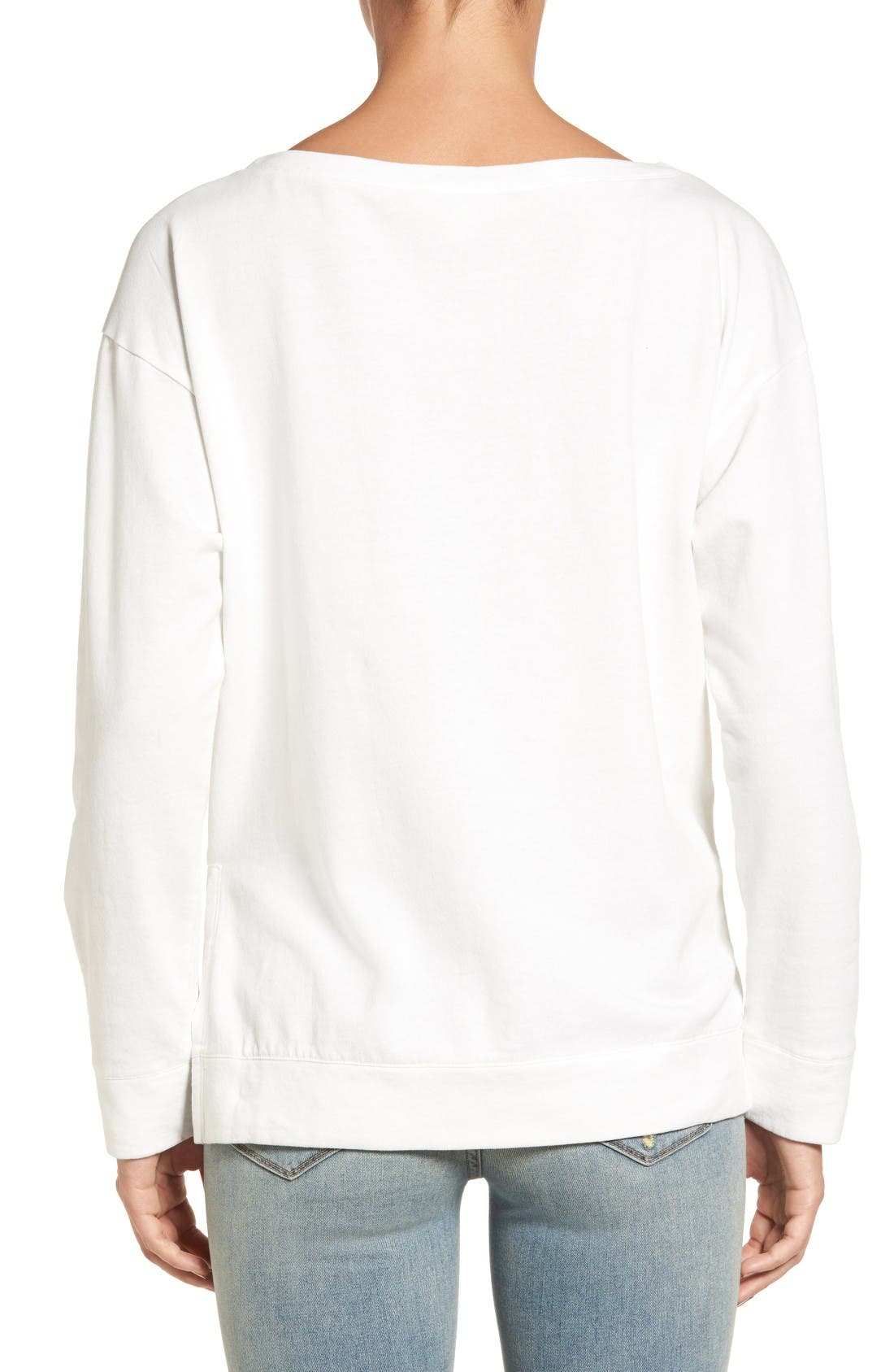 Alternate Image 2  - Treasure & Bond Side Slit Pullover