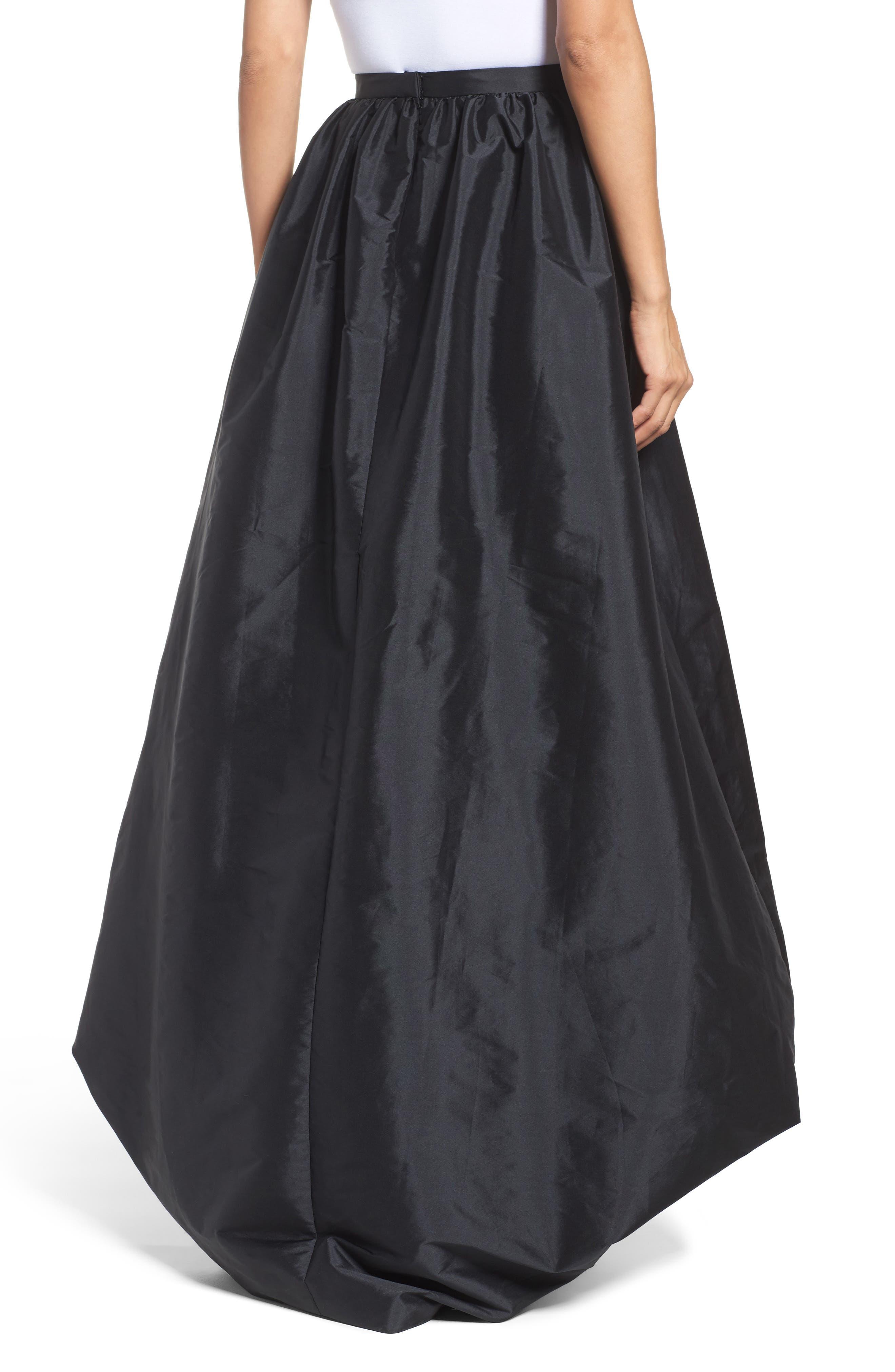 Alternate Image 2  - Adrianna Papell High/Low Ballgown Skirt