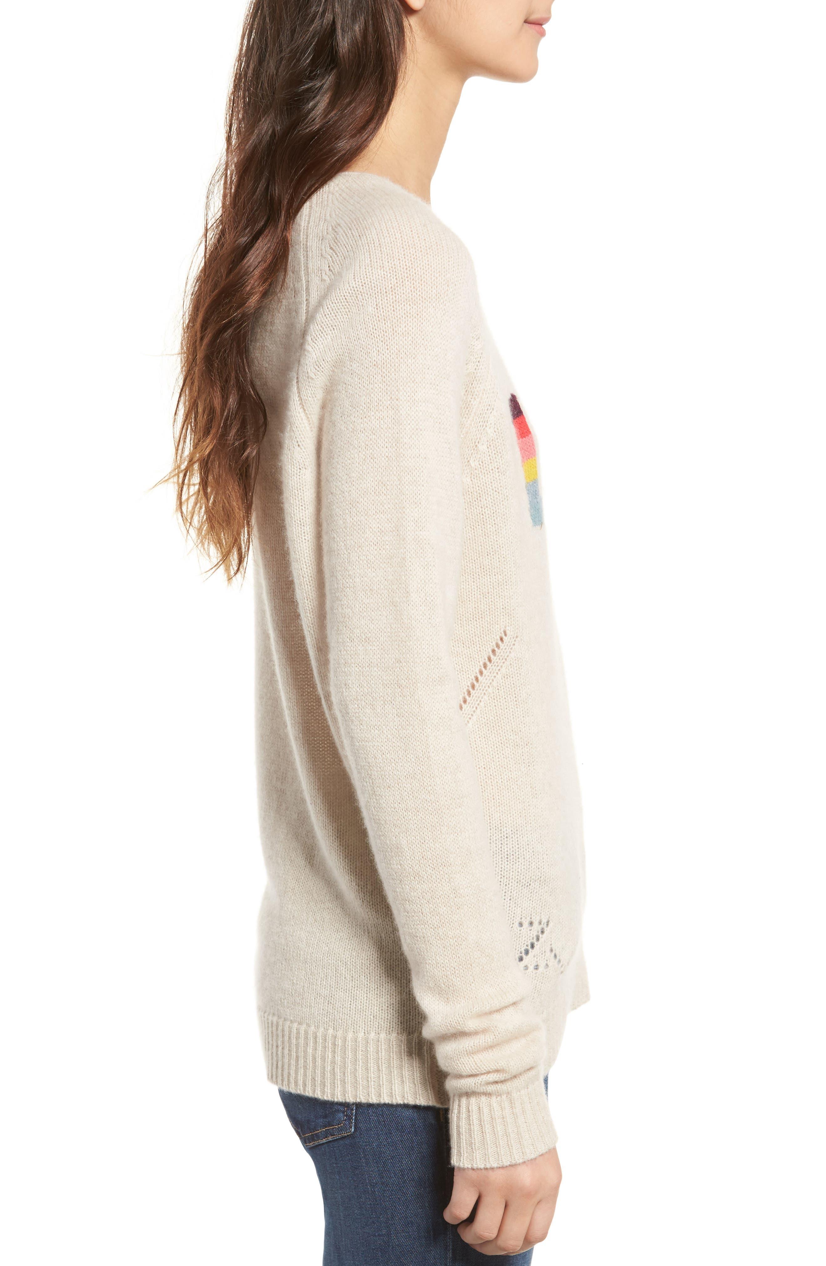 Alternate Image 3  - Zadig & Voltaire Baly Bis Cashmere Sweater