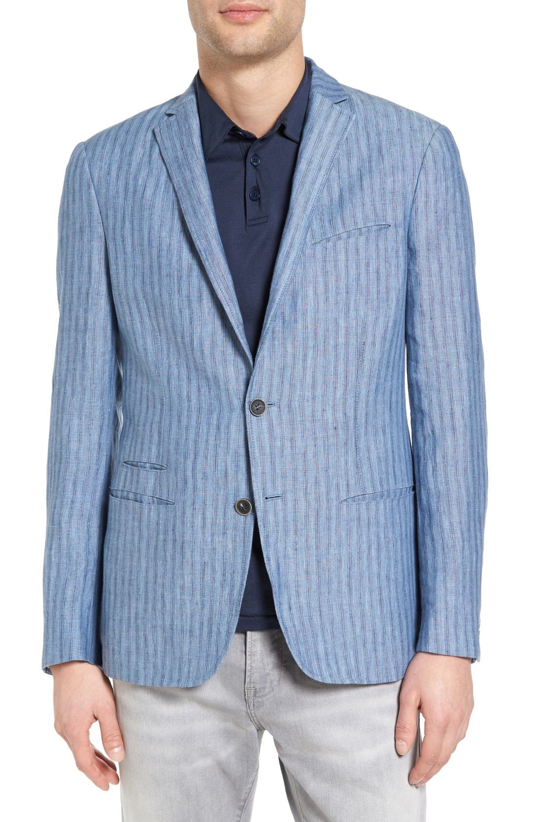 John Varvatos Collection Thompson Linen Sport Coat