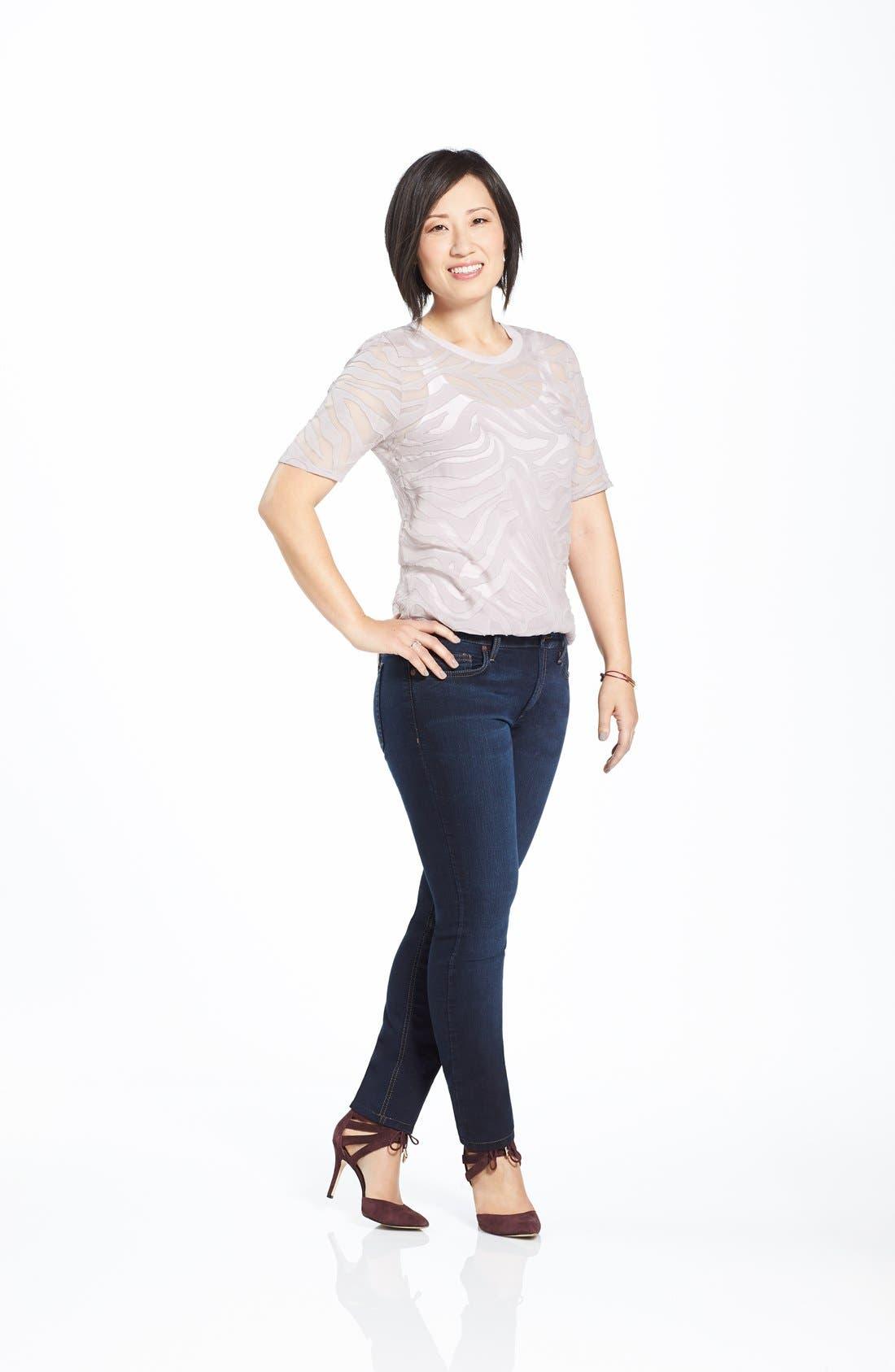 Alternate Image 5  - Joe's 'Flawless' Curvy Skinny Jeans (Ilse)
