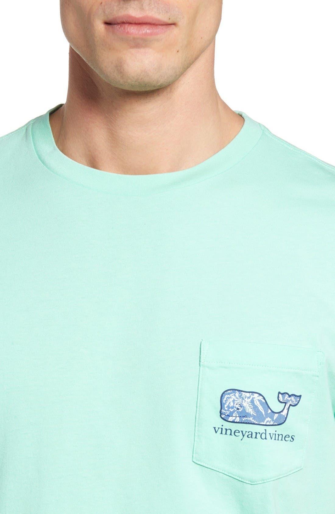 Alternate Image 4  - Vineyard Vines Aquatic Hibiscus T-Shirt
