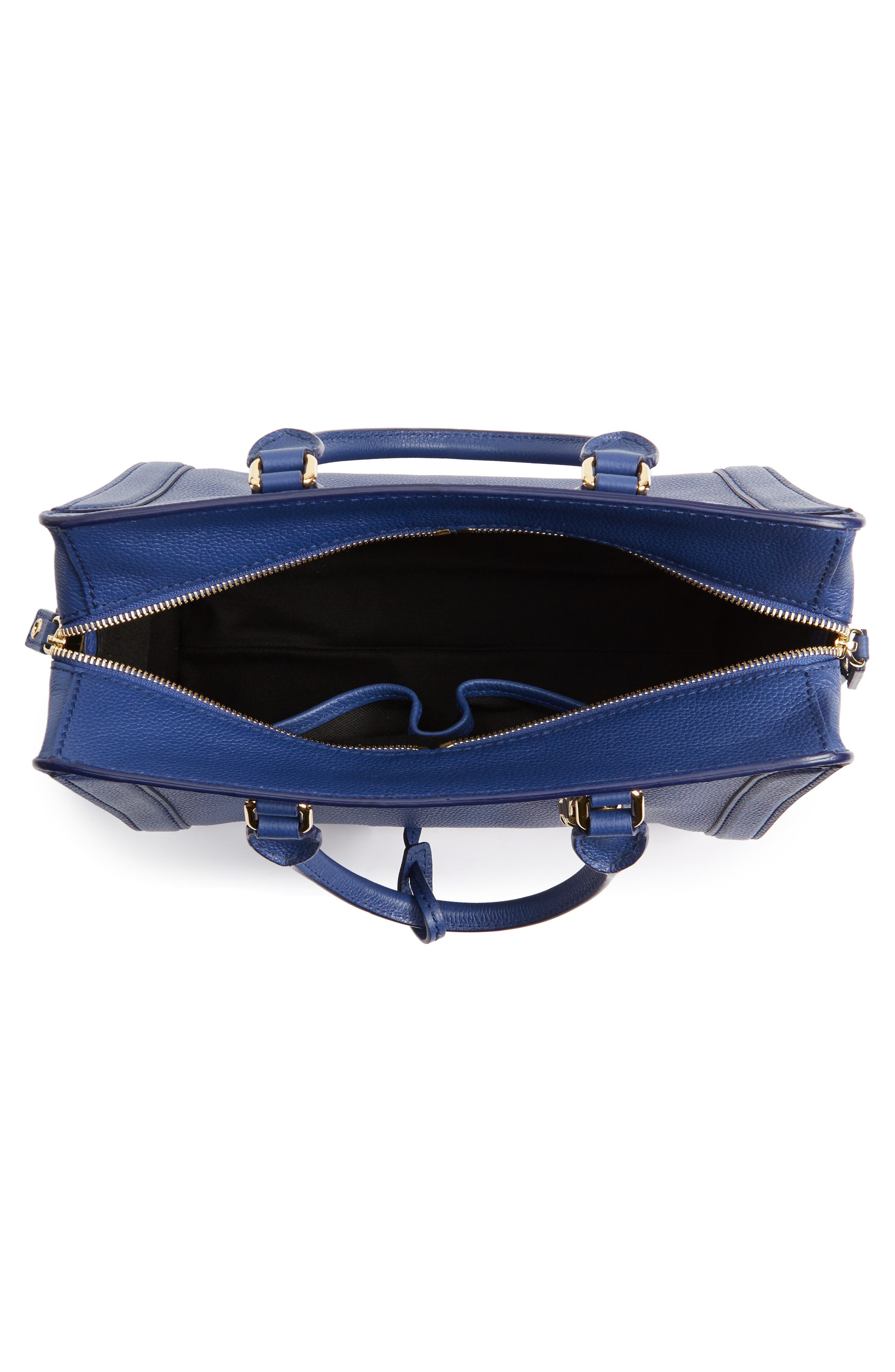Alternate Image 4  - Alexander McQueen 'Small Padlock' Calfskin Leather Duffel Bag
