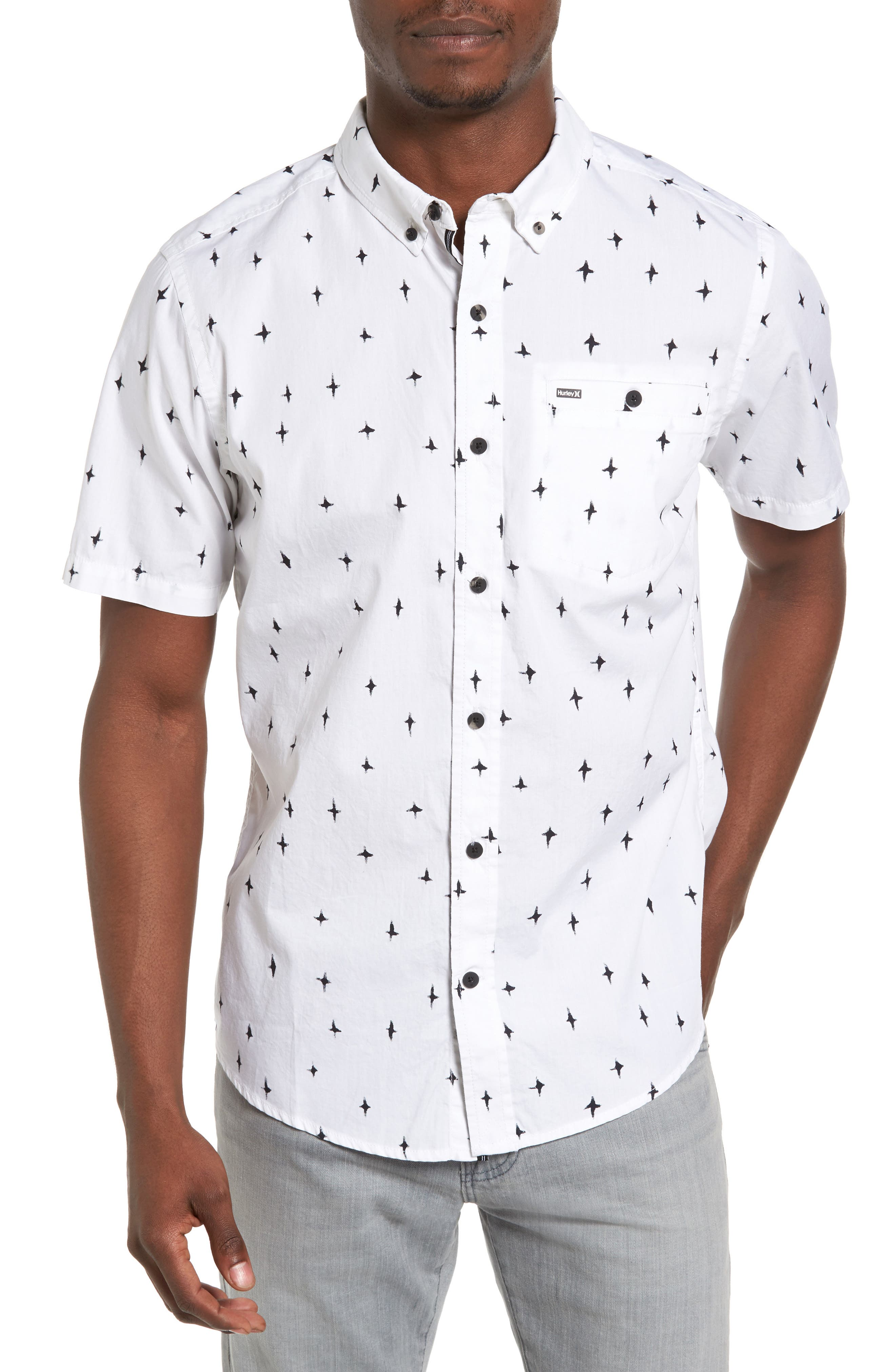 HURLEY Montauk Print Woven Shirt