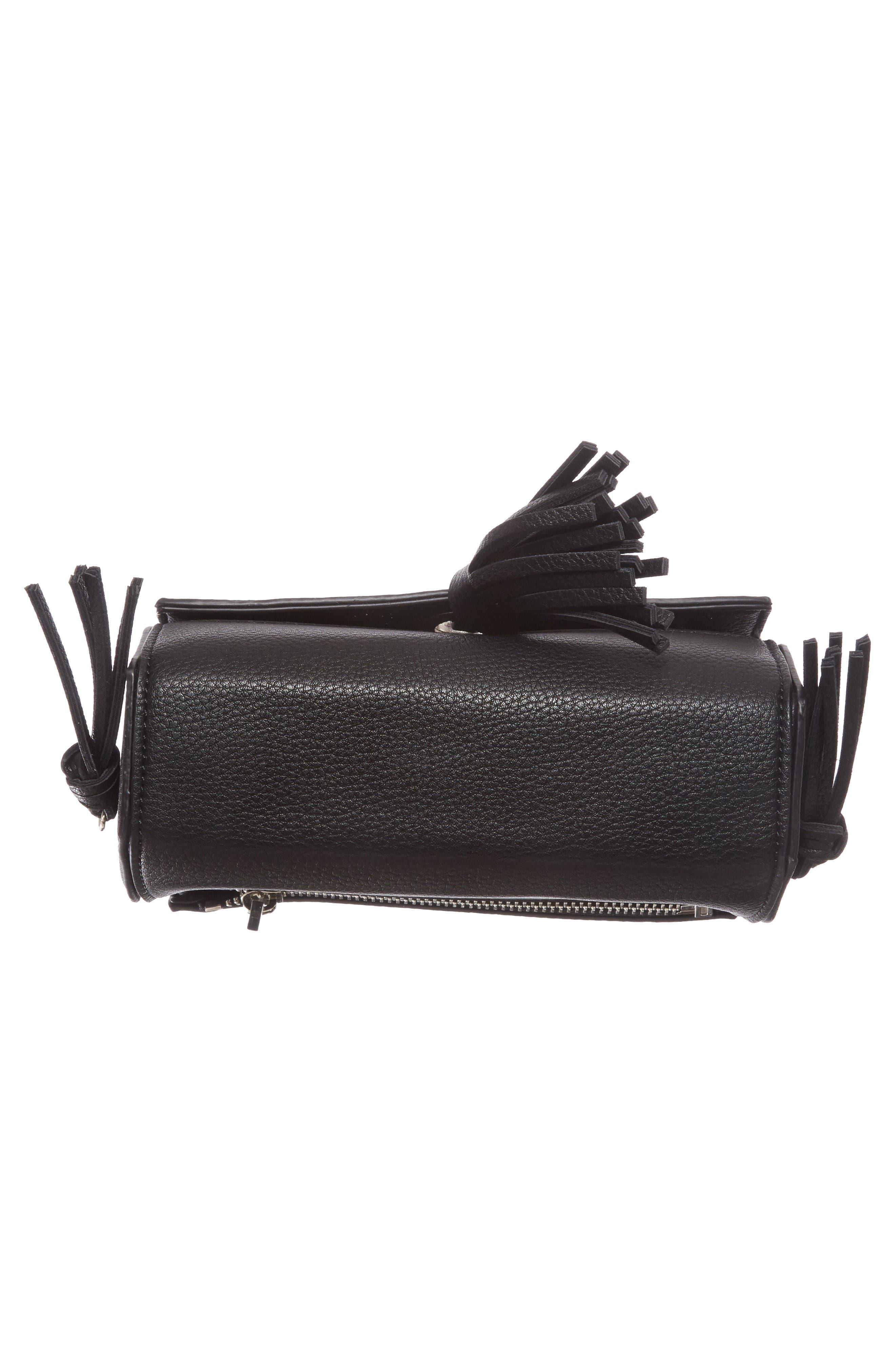 Alternate Image 5  - Street Level Convertible Faux Leather Crossbody Bag