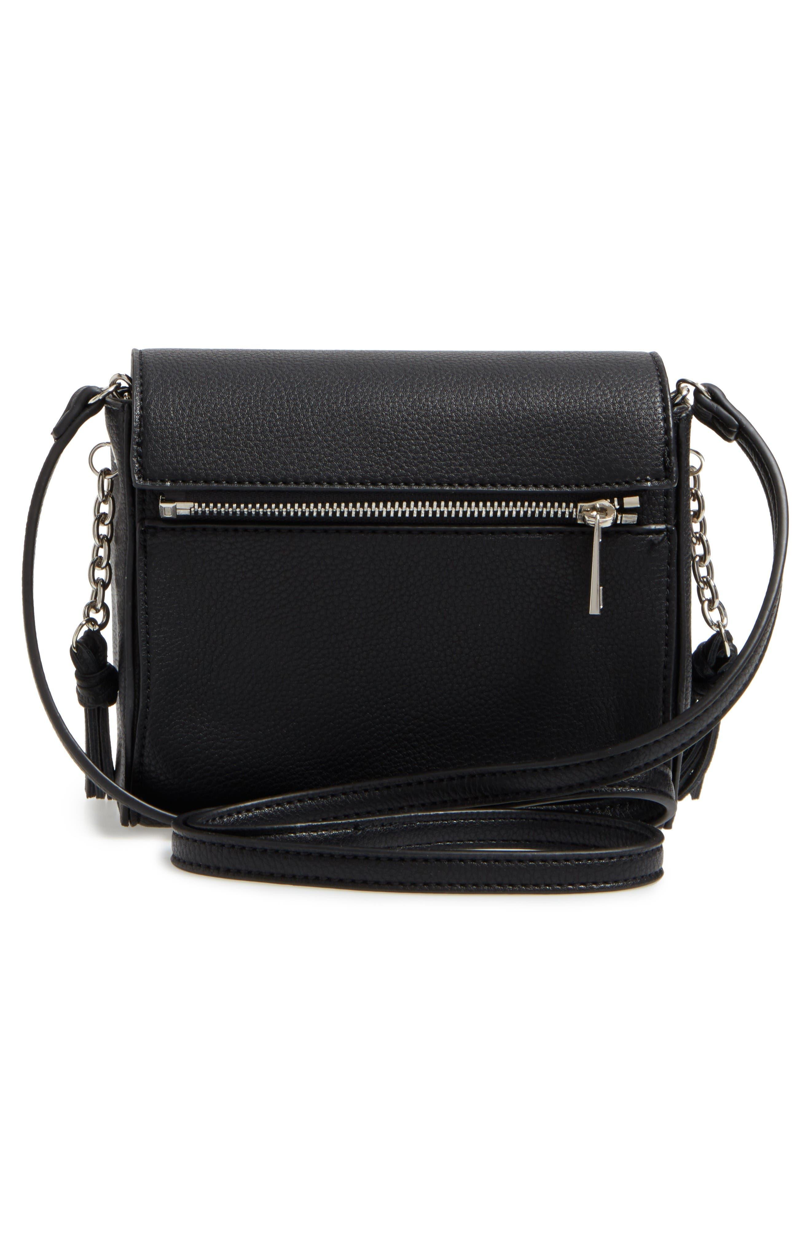 Alternate Image 2  - Street Level Convertible Faux Leather Crossbody Bag