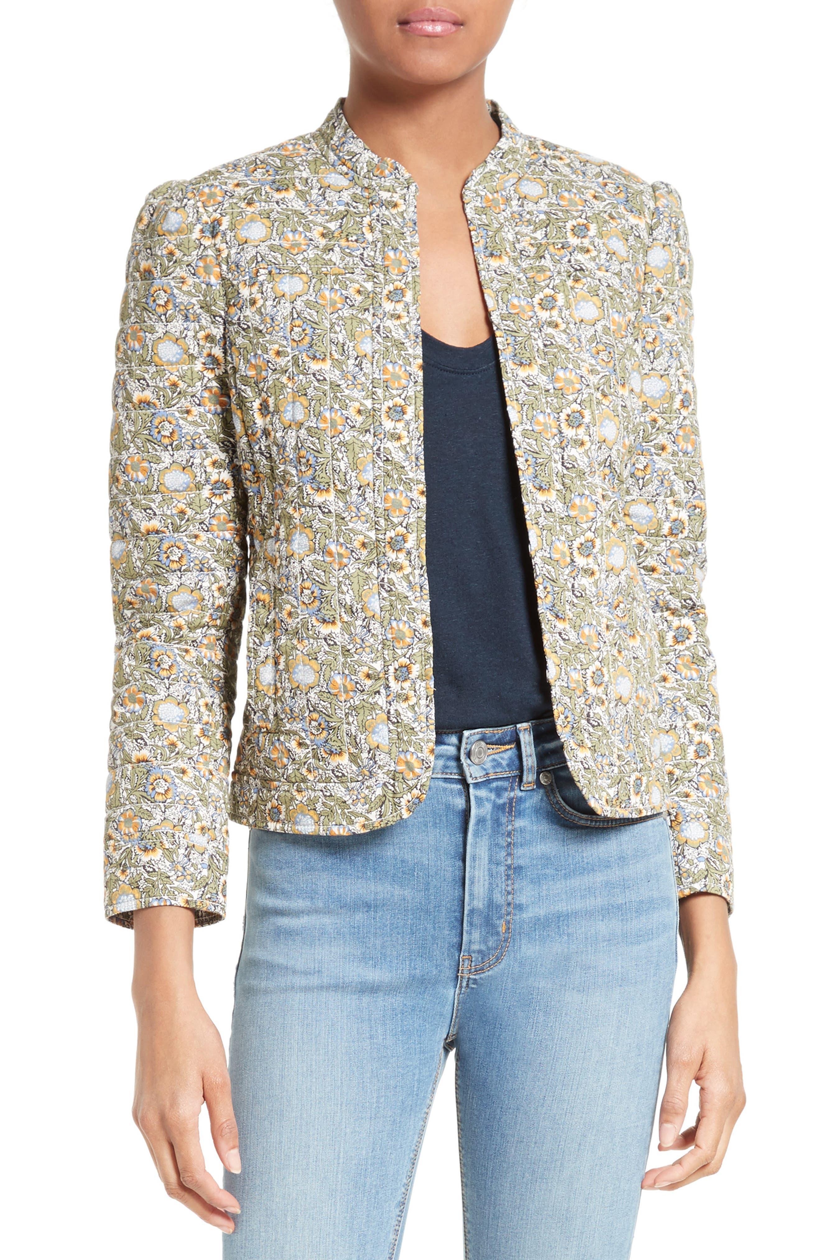 La Vie Rebecca Taylor French Marigold Cotton Jacket