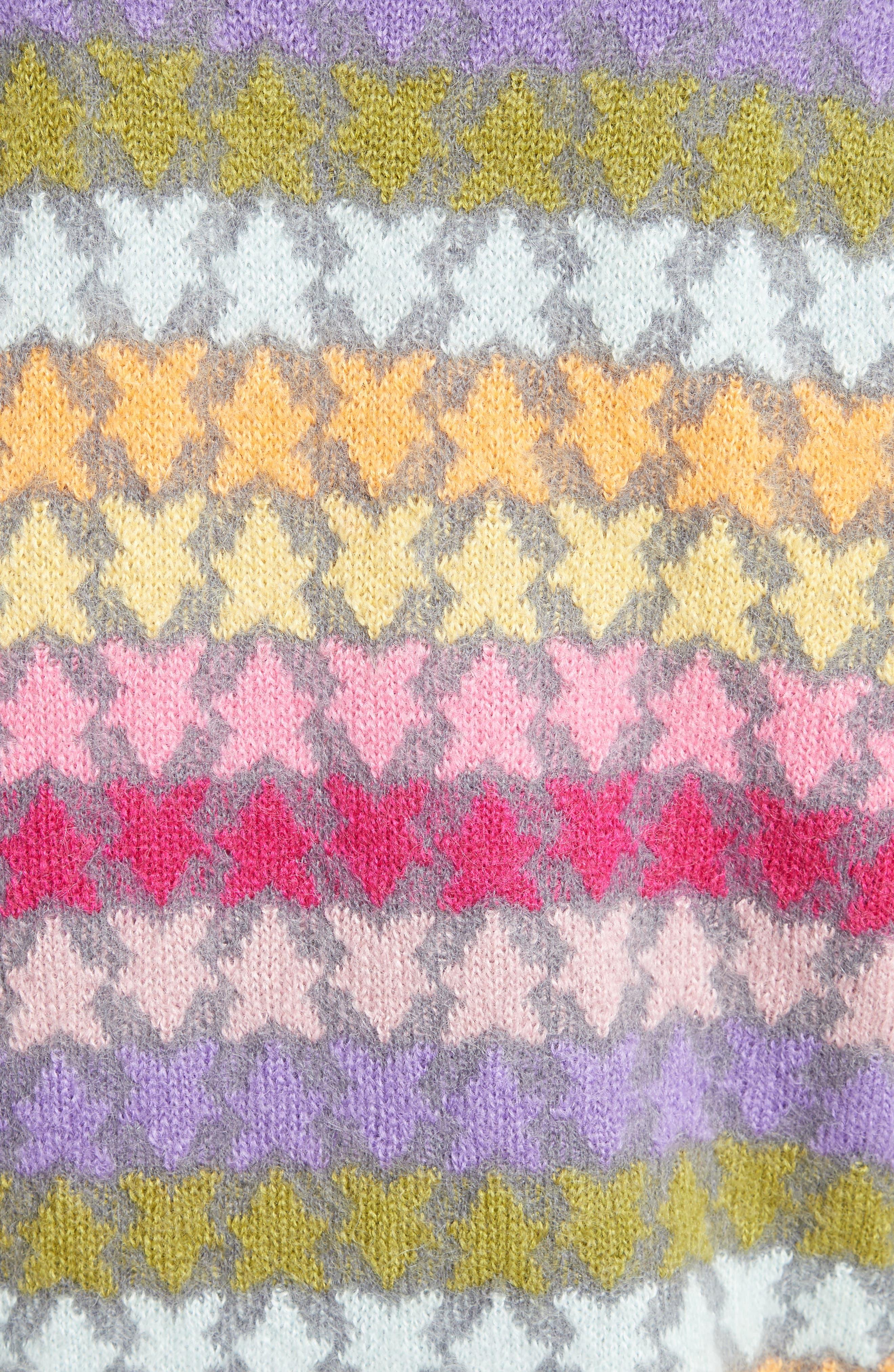 Alternate Image 3  - MARC JACOBS Star Knit Mohair Blend Cardigan