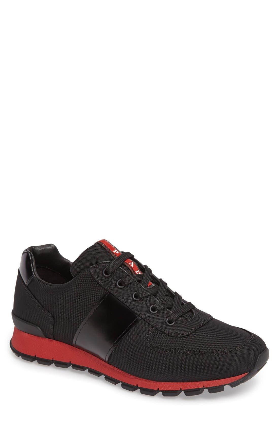 Prada Linea Rossa Runner Sneaker (Men)