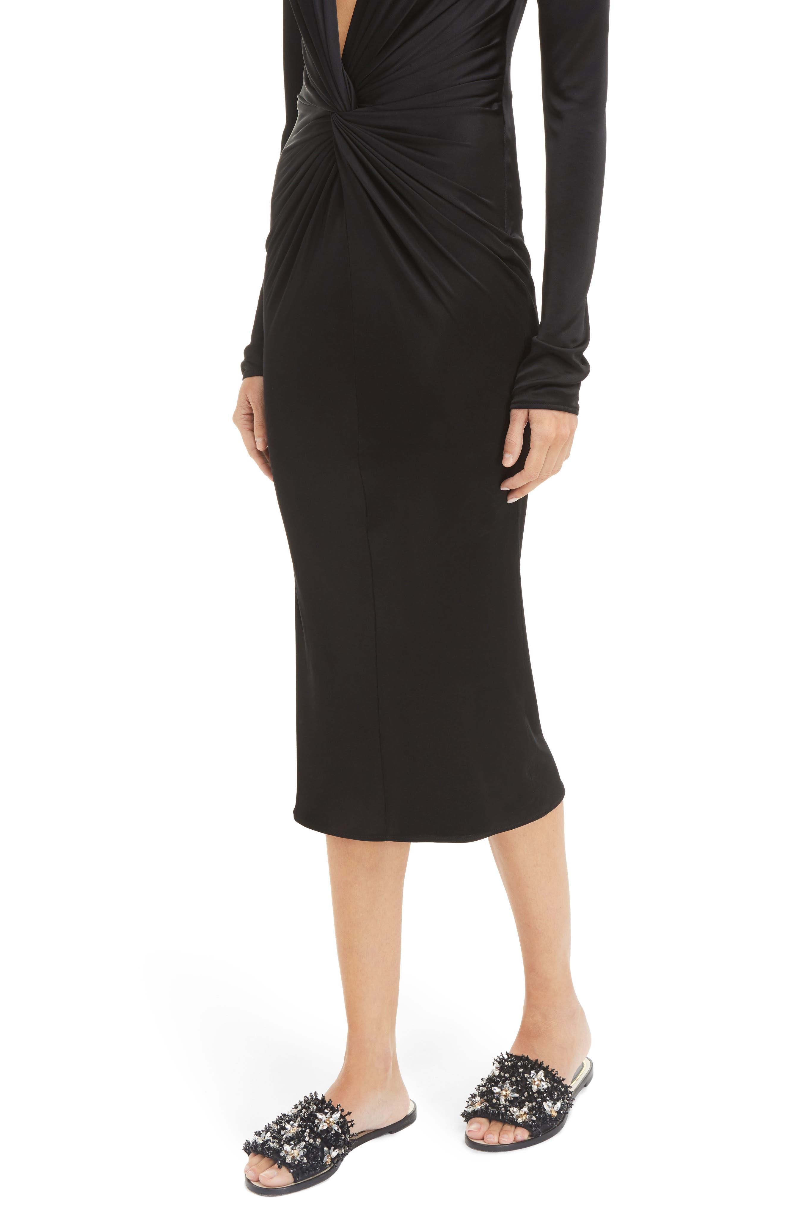 Alternate Image 6  - Lanvin Jersey Twist Front Dress