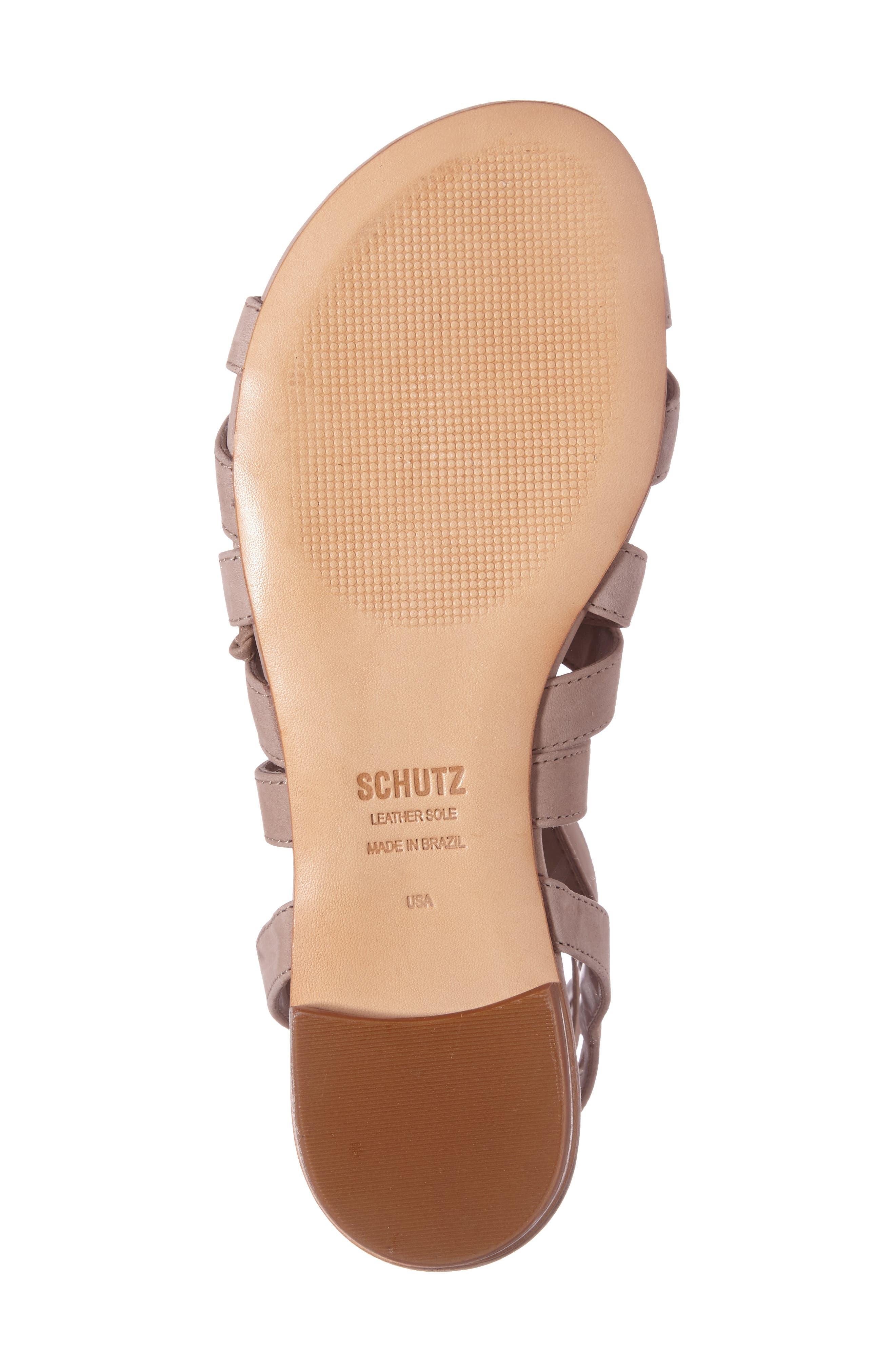Alternate Image 4  - Schutz Berlina Ghillie Gladiator Sandal (Women)