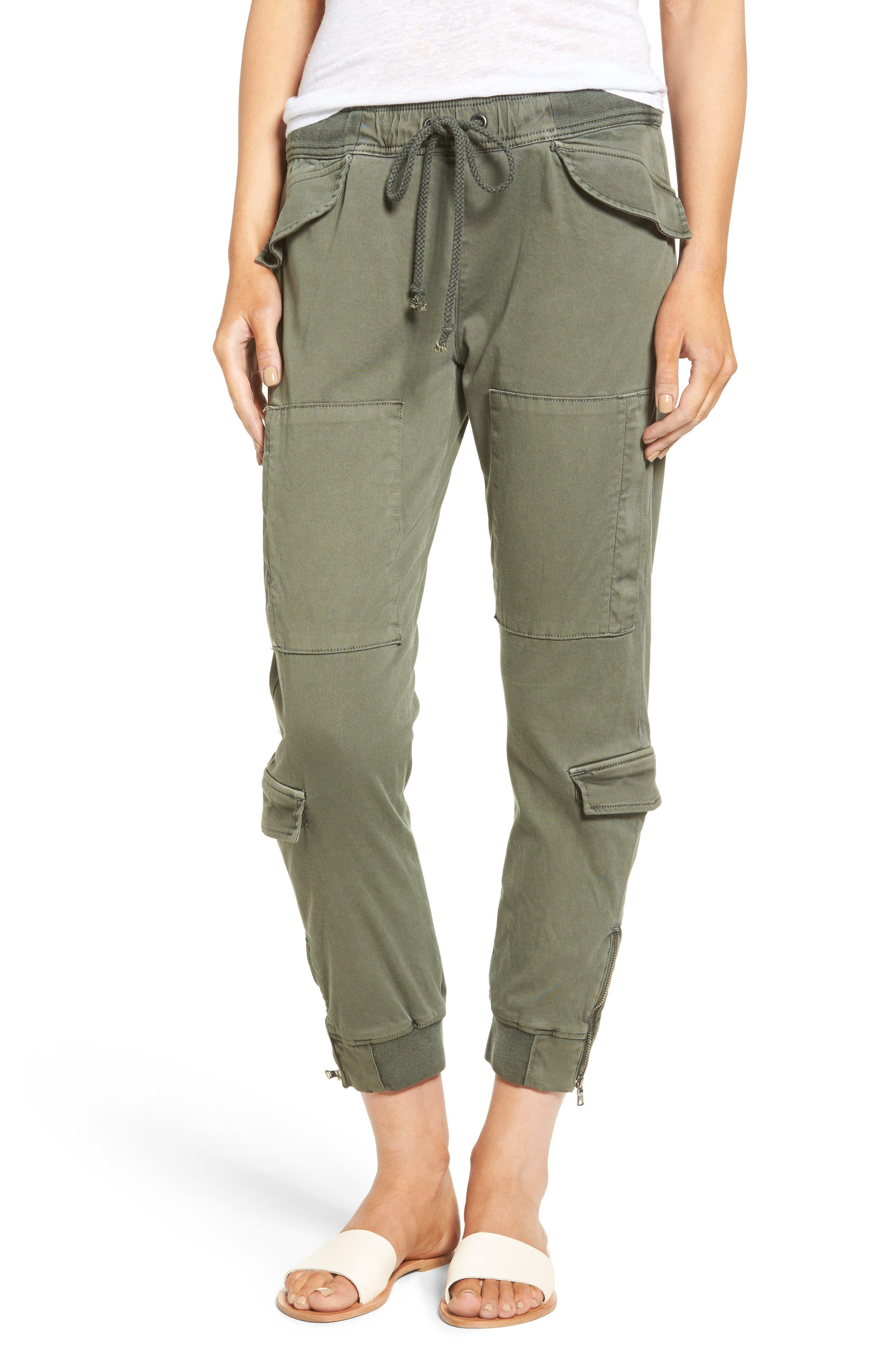 Hudson Jeans Runaway Crop Jogger Pants