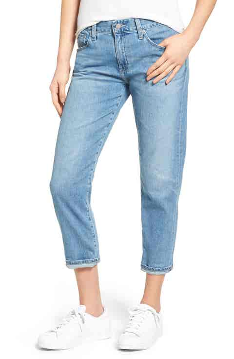 AG Ex-Boyfriend Relaxed Slim Jeans (19 Years Illuminate)
