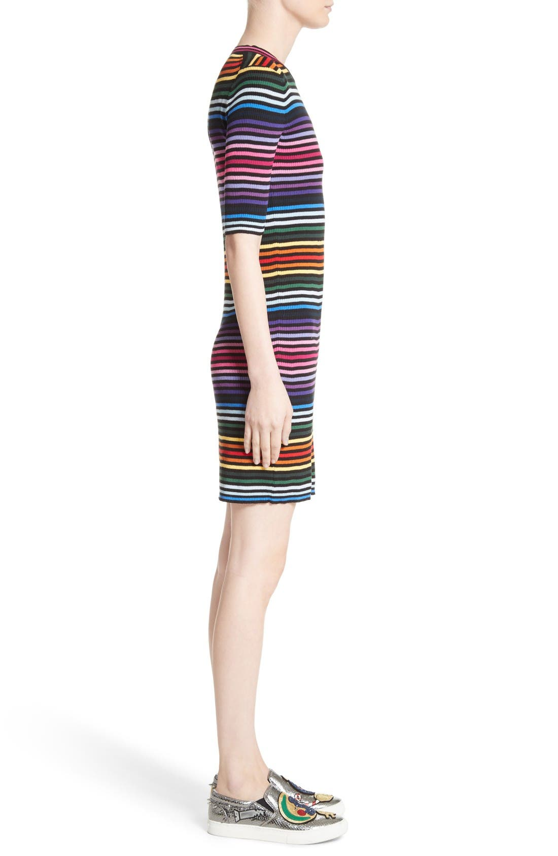 Alternate Image 5  - MARC JACOBS Stripe Cotton T-shirt Dress