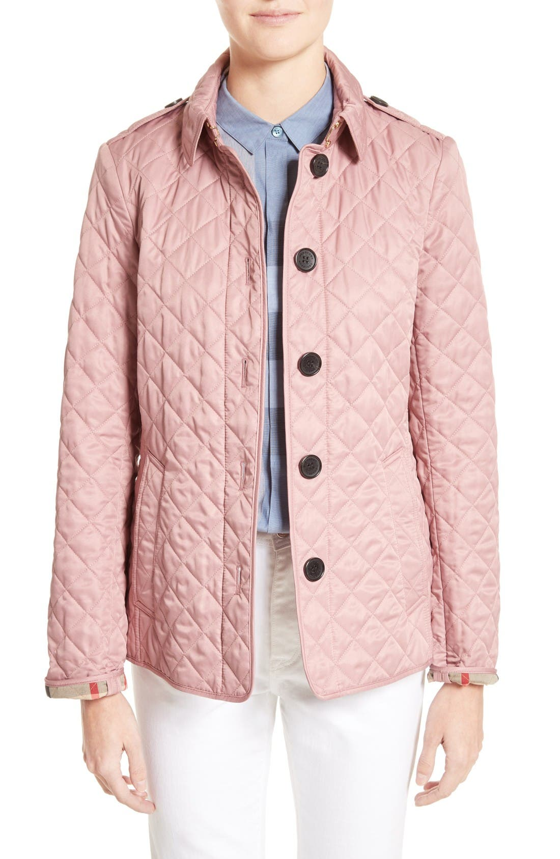 Pink Quilted Jackets for Women | Nordstrom