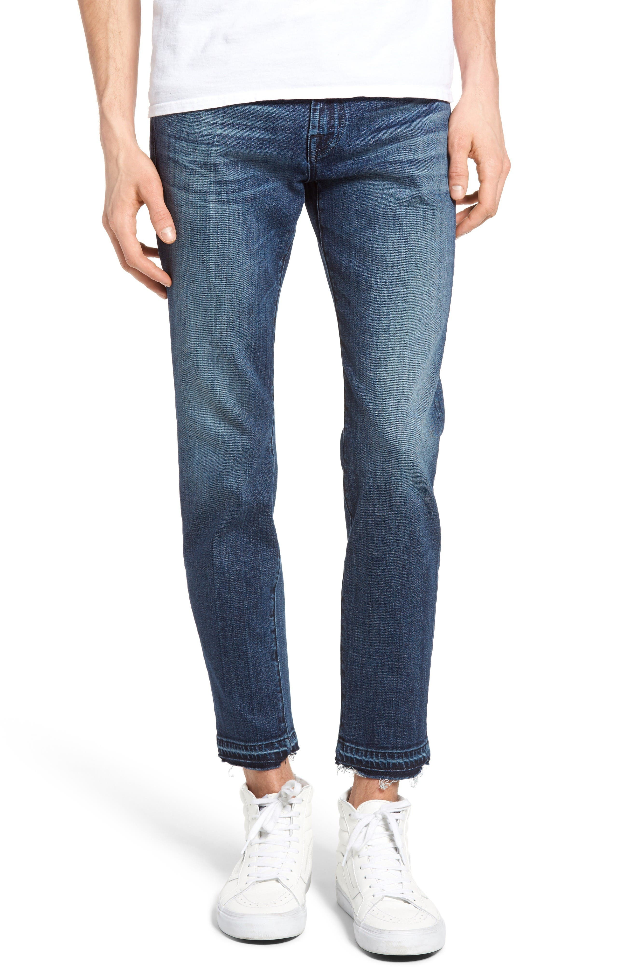 7 For All Mankind® Paxtyn Skinny Fit Jeans (Indigo)