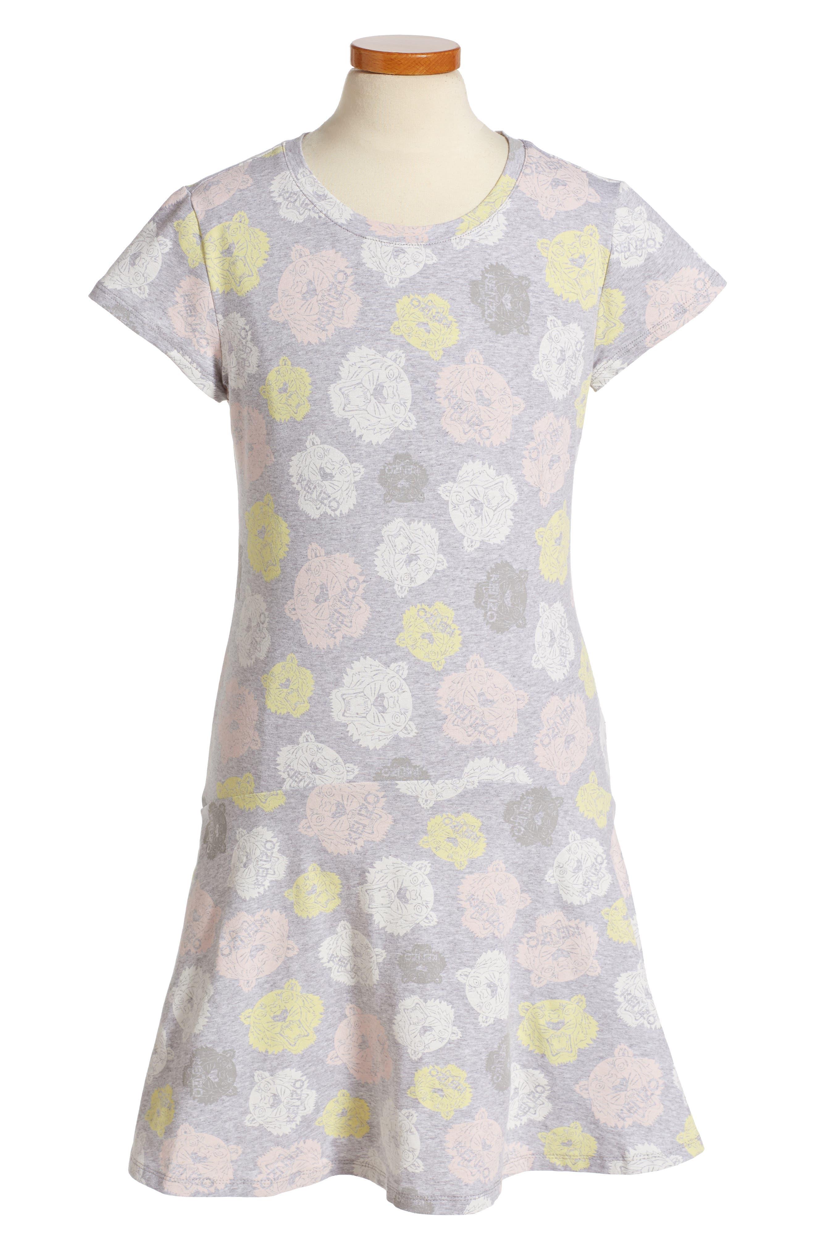 KENZO Tiger Print Dress